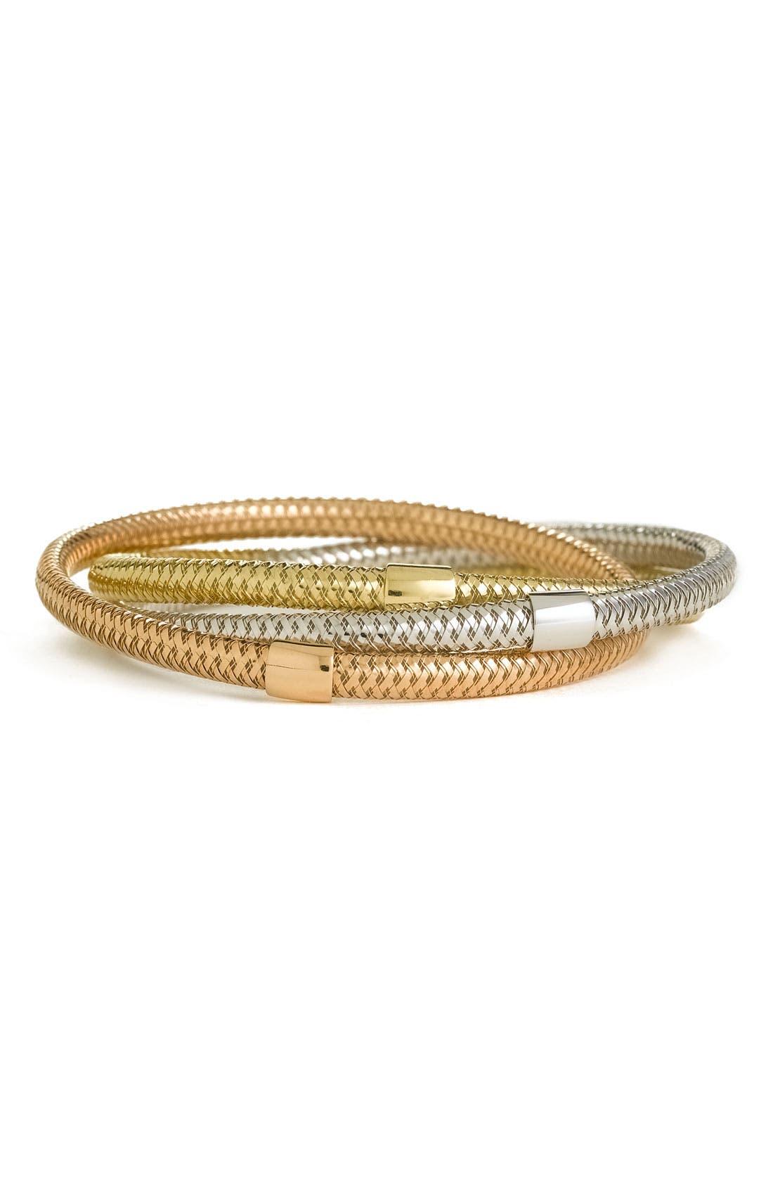 Alternate Image 1 Selected - Roberto Coin 'Primavera' Triple Bracelet