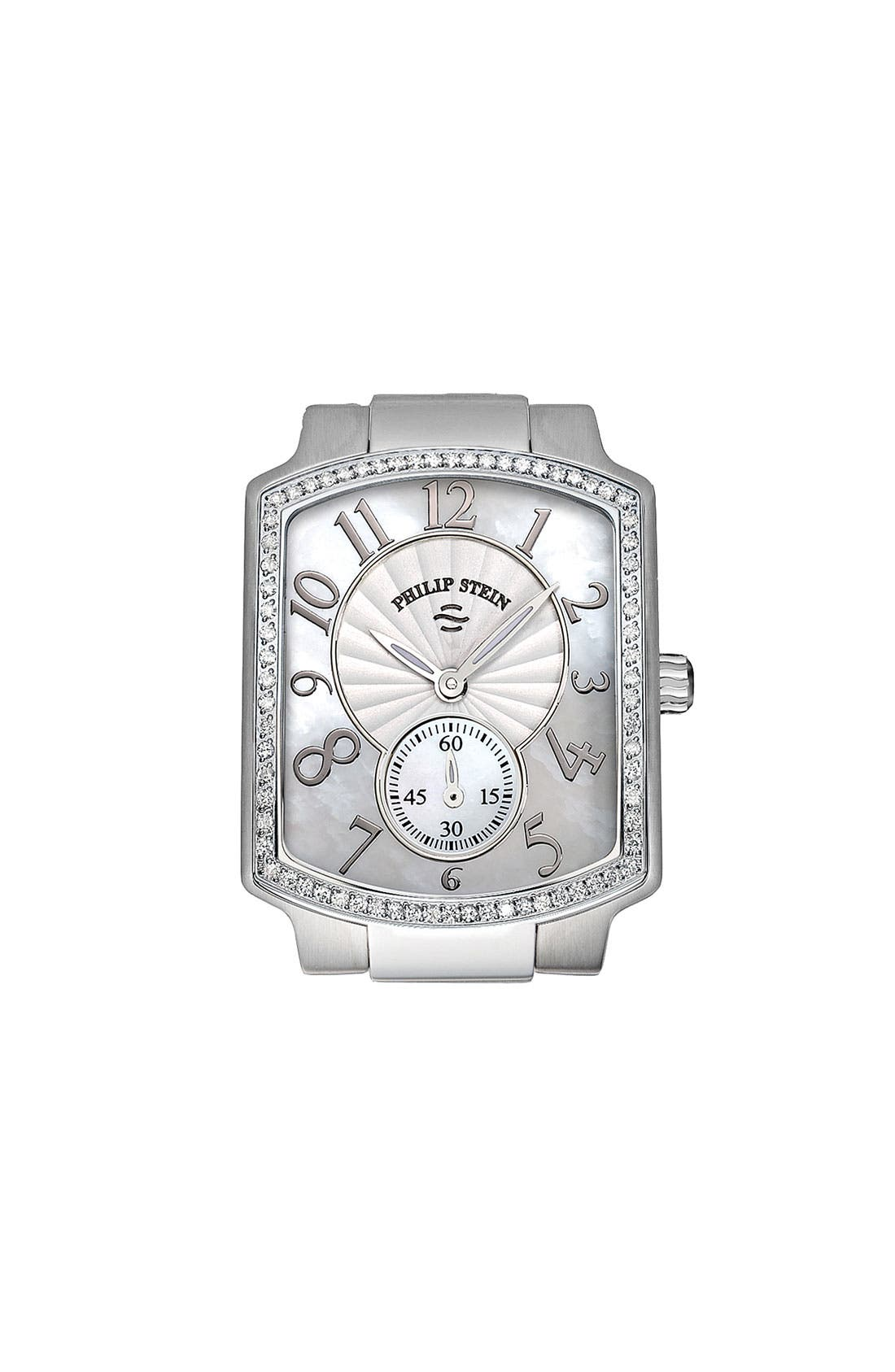 Main Image - Philip Stein® 'Classic' Ladies' Small Diamond Watch Case, 29mm x 37mm