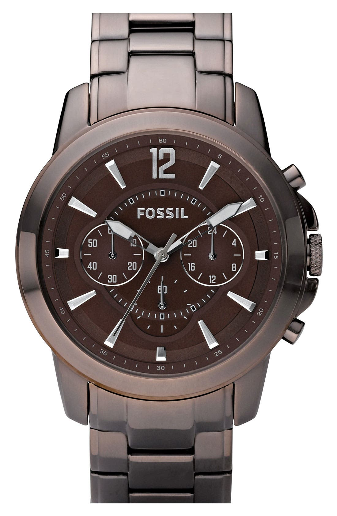 Alternate Image 1 Selected - Fossil Chronograph Bracelet Watch, 44mm