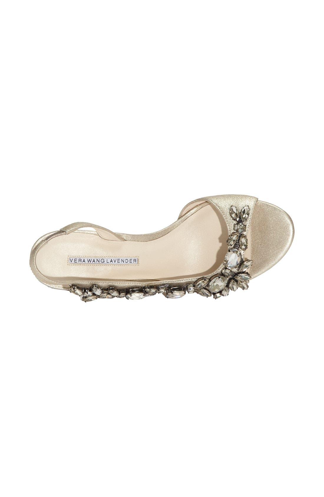 Alternate Image 3  - Vera Wang Lavender 'Elizabeth' Sandal