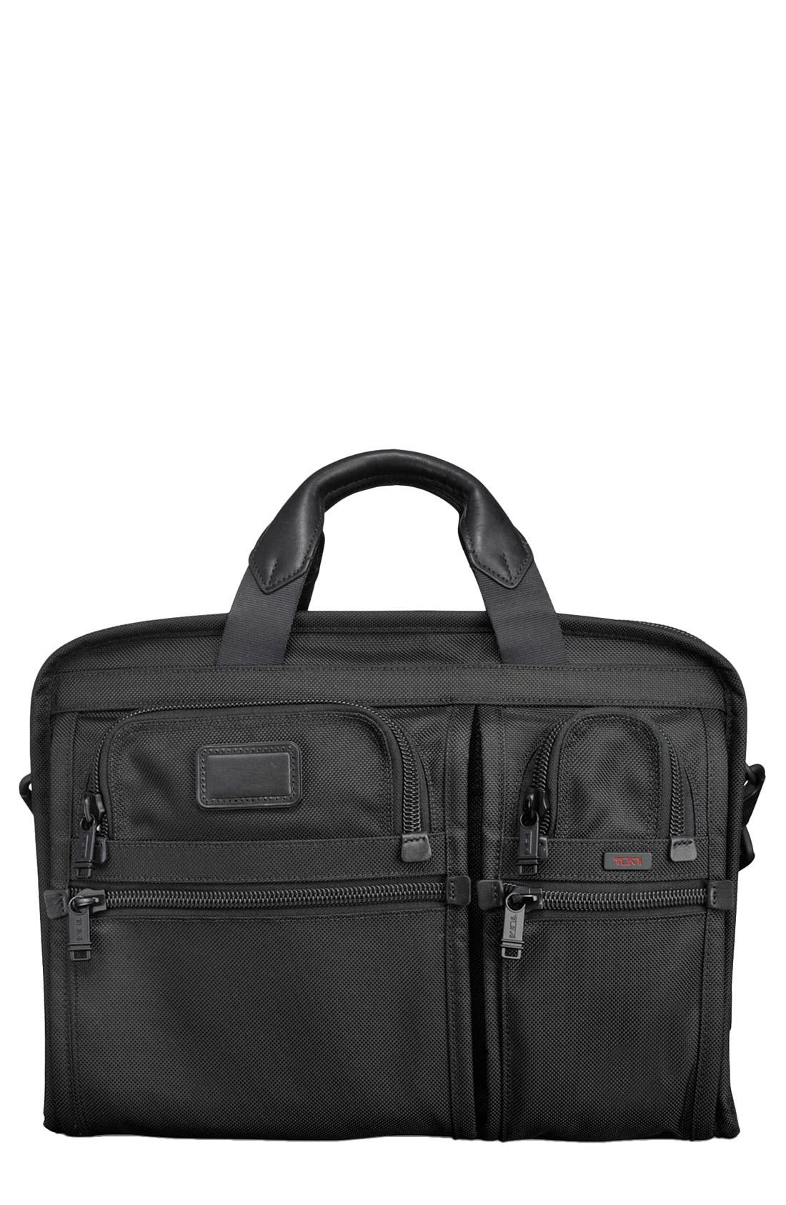 Alternate Image 1 Selected - Tumi 'Alpha' Organizer Portfolio Briefcase
