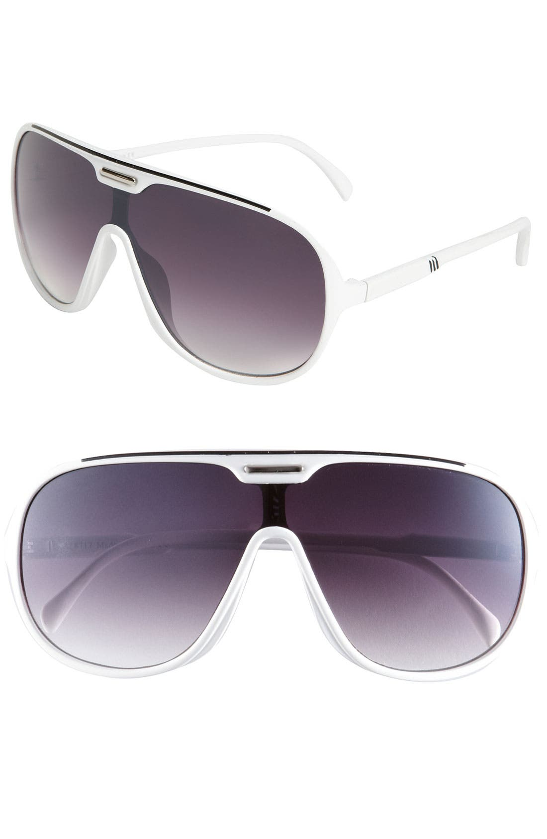 Alternate Image 1 Selected - KW 'Viper' Aviator Sunglasses