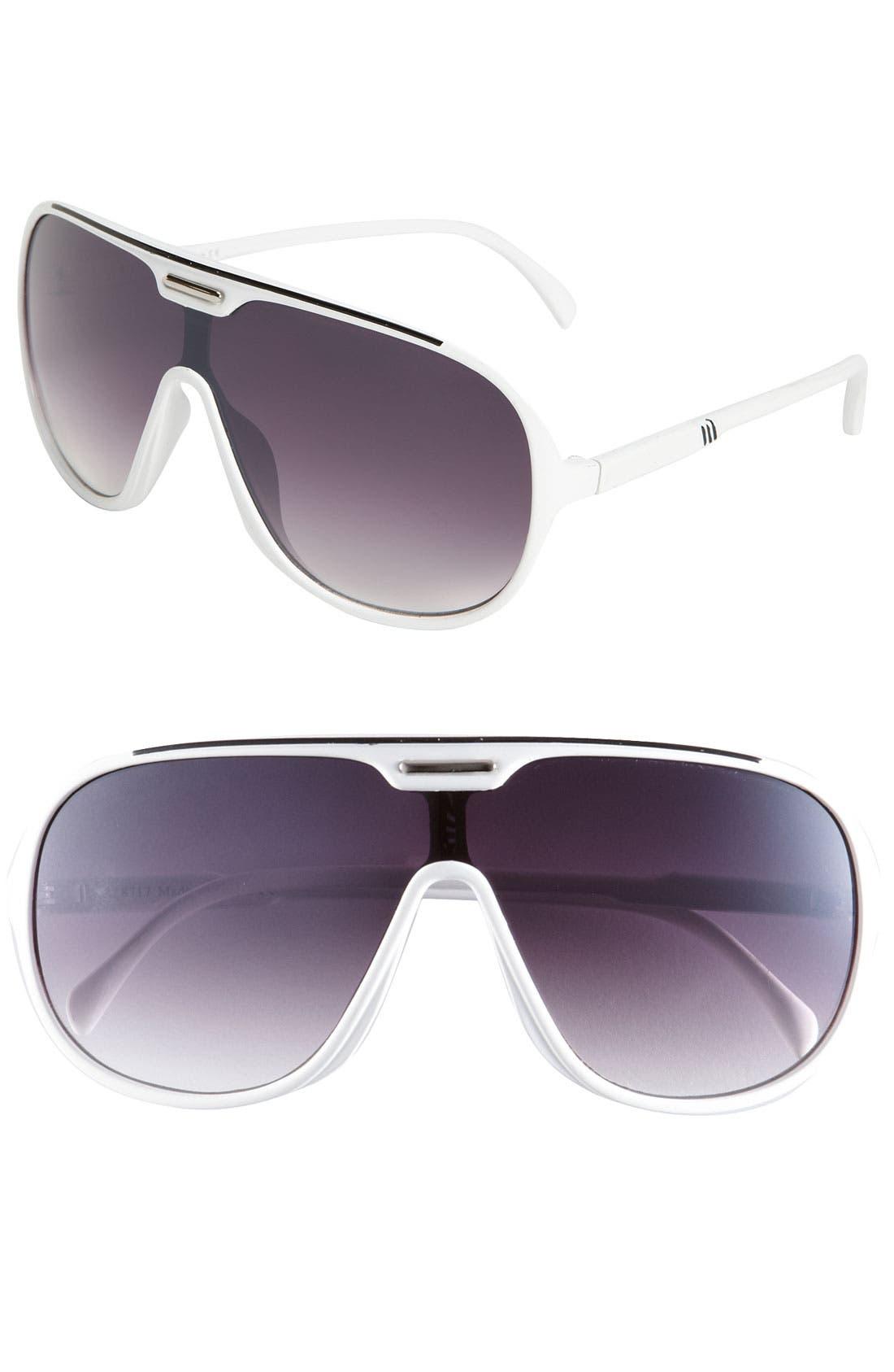 Main Image - KW 'Viper' Aviator Sunglasses
