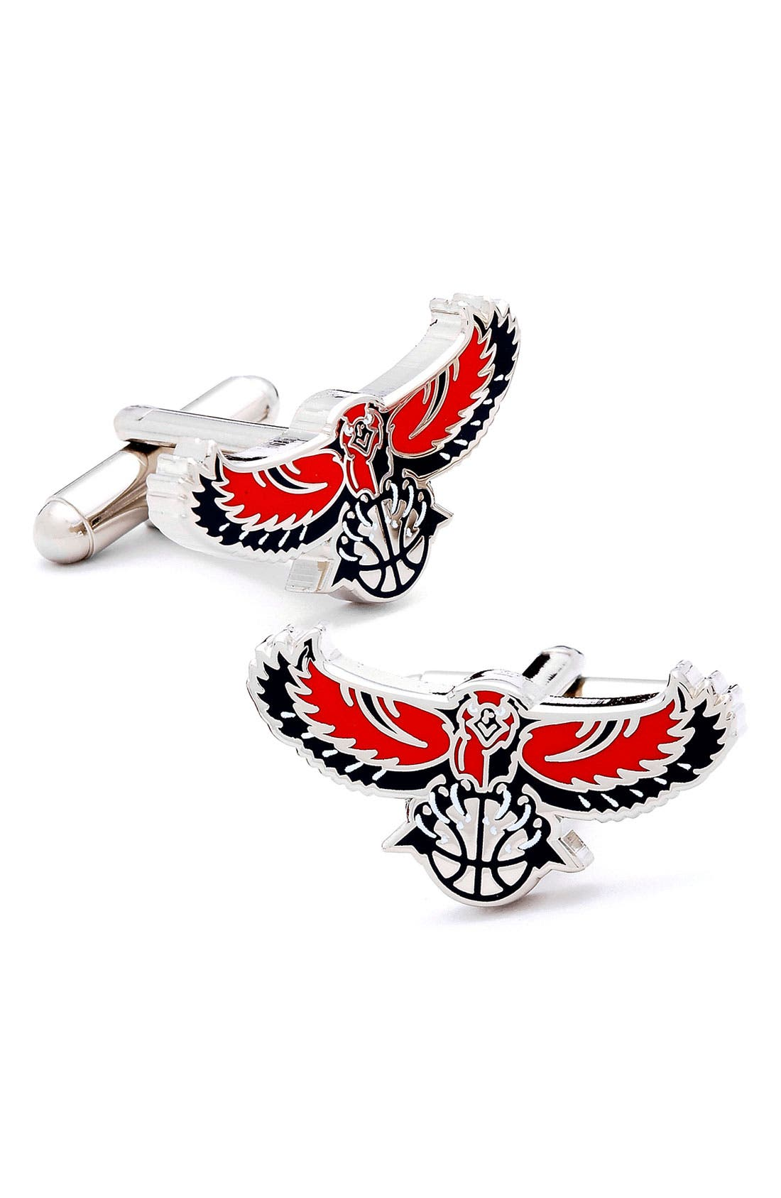 Main Image - Cufflinks, Inc. 'Atlanta Hawks' Cuff Links