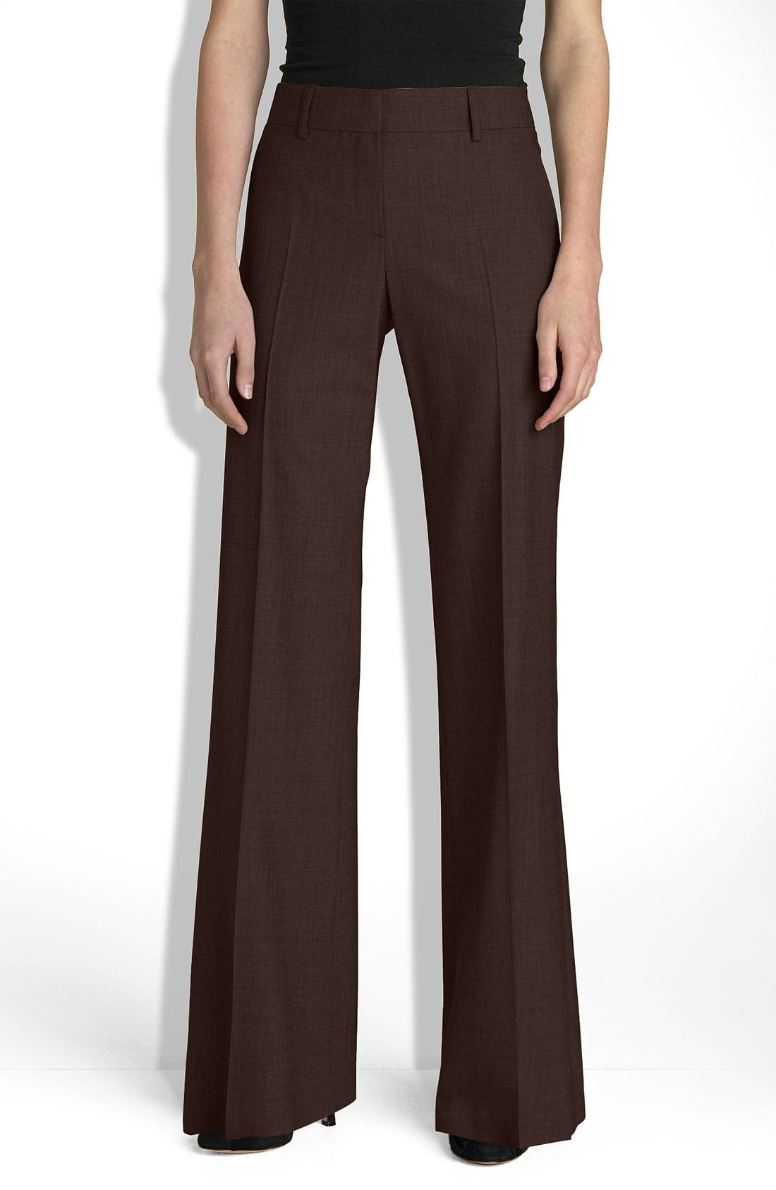 Alternate Image 1 Selected - Theory 'Emery - Tailor' Bootcut Trousers