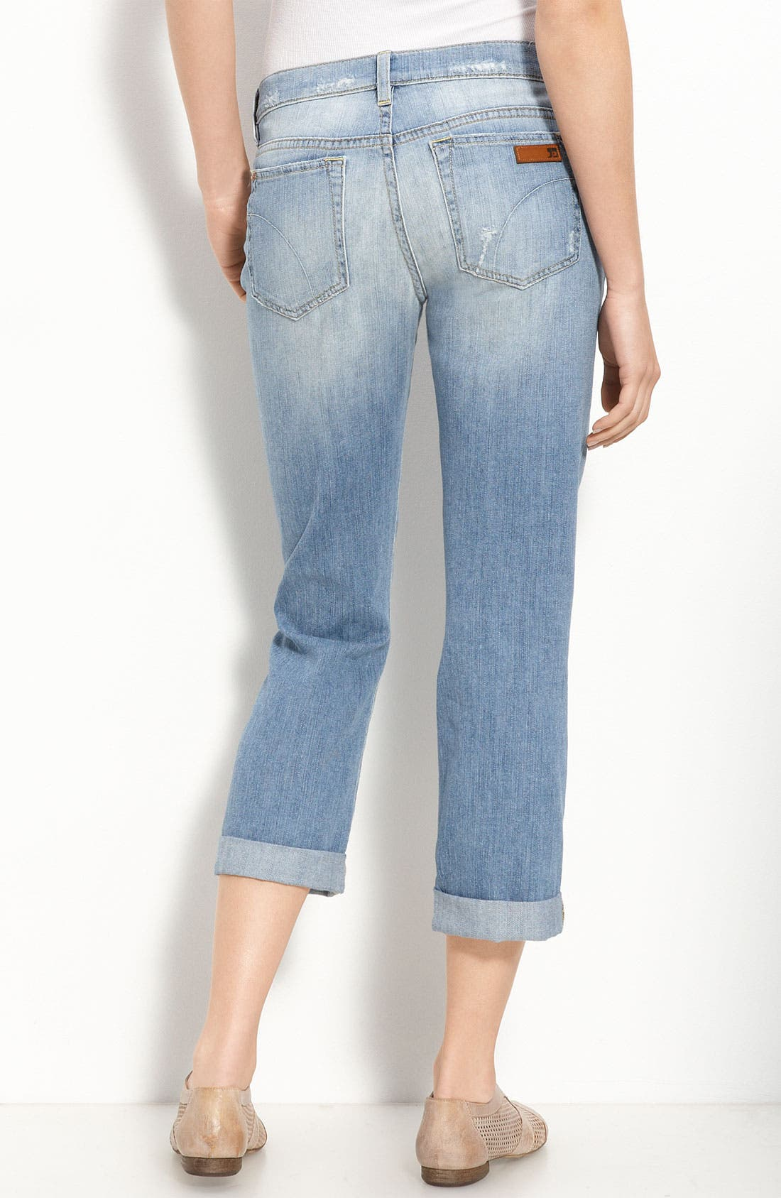 Alternate Image 2  - Joe's 'Boyfriend Kicker' Crop Jeans (Patricia Wash)