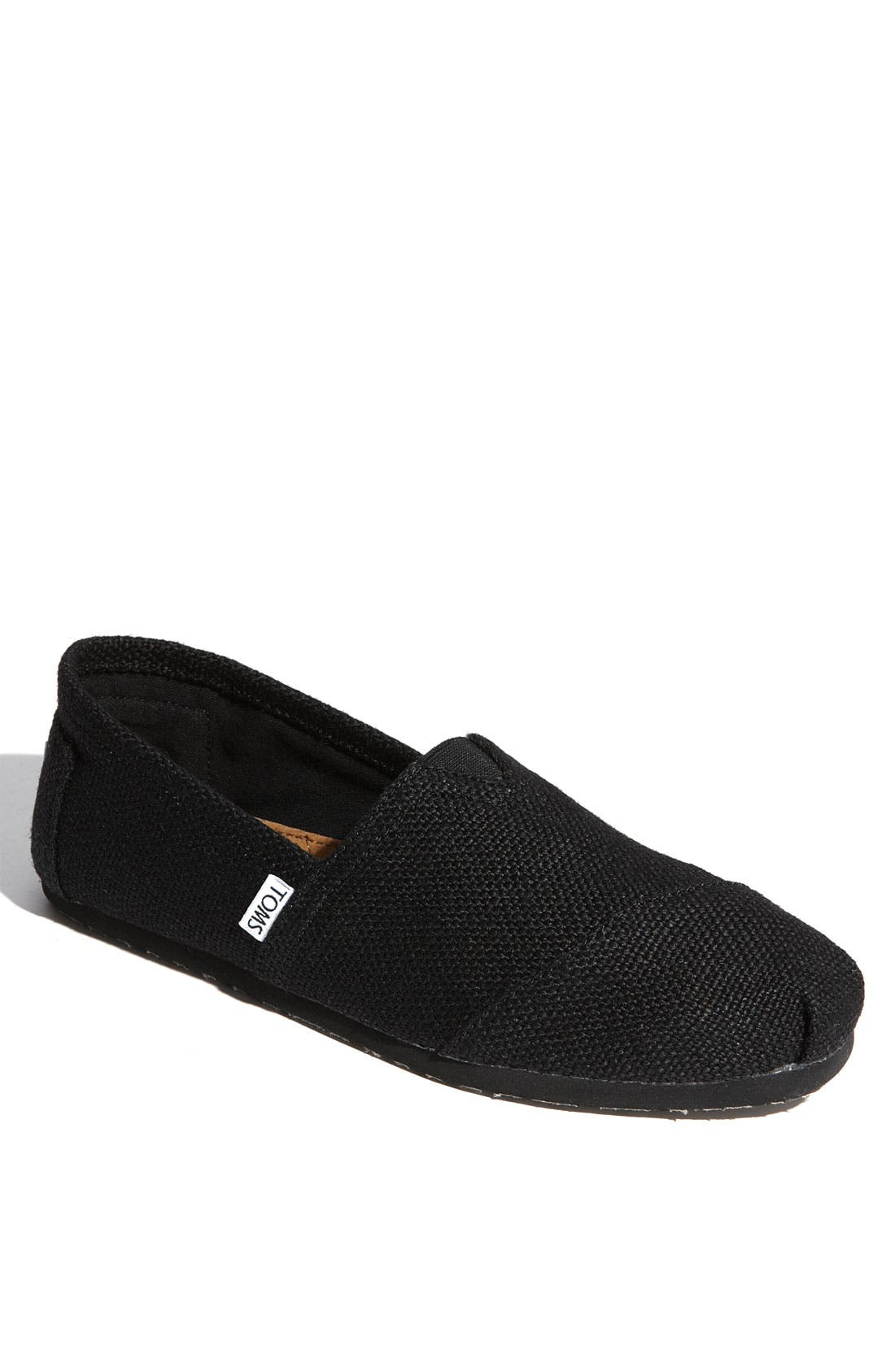 Alternate Image 1 Selected - TOMS 'Classic' Burlap Slip-On   (Men)