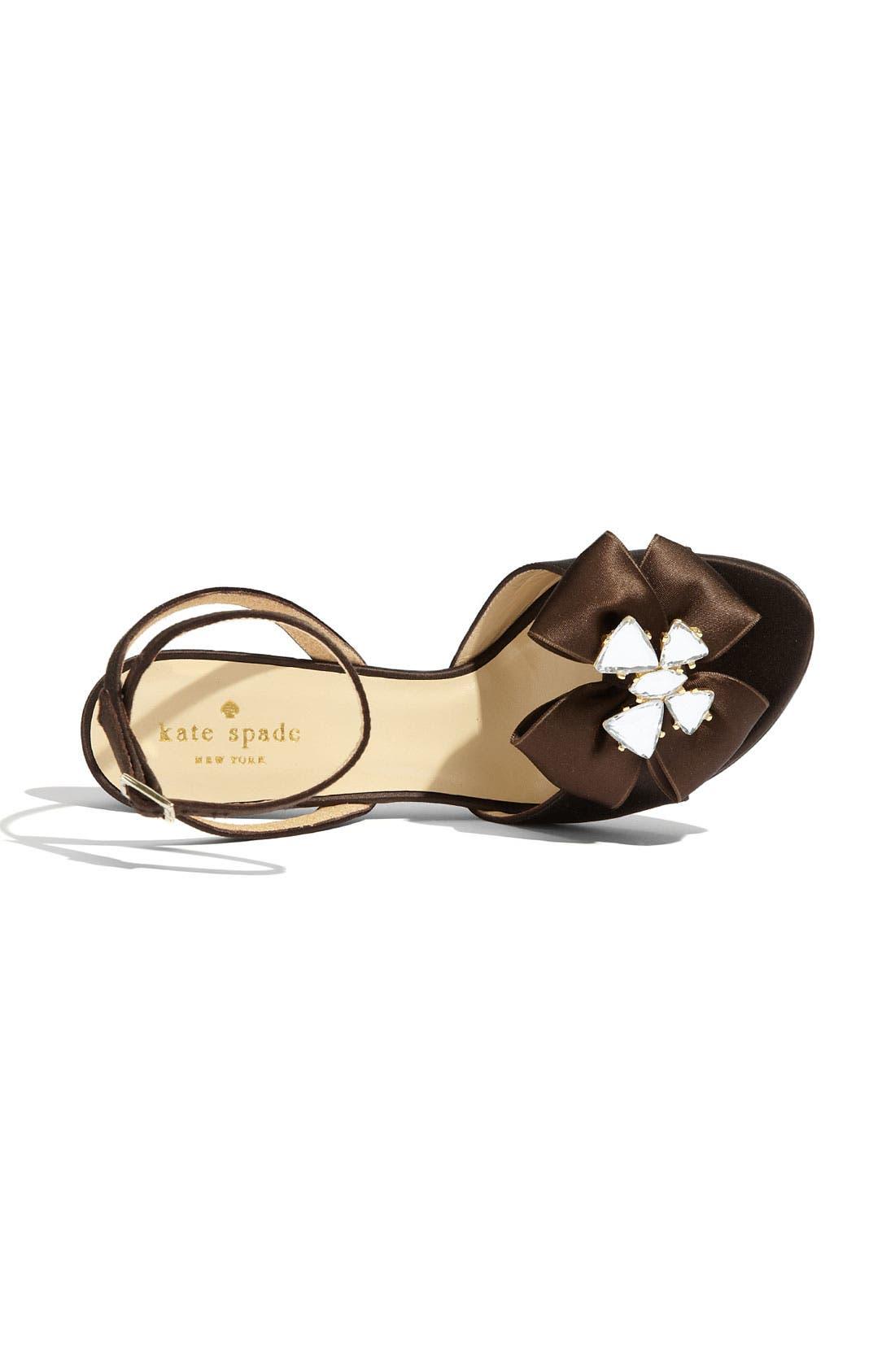 Alternate Image 3  - kate spade new york 'shelby' satin sandal