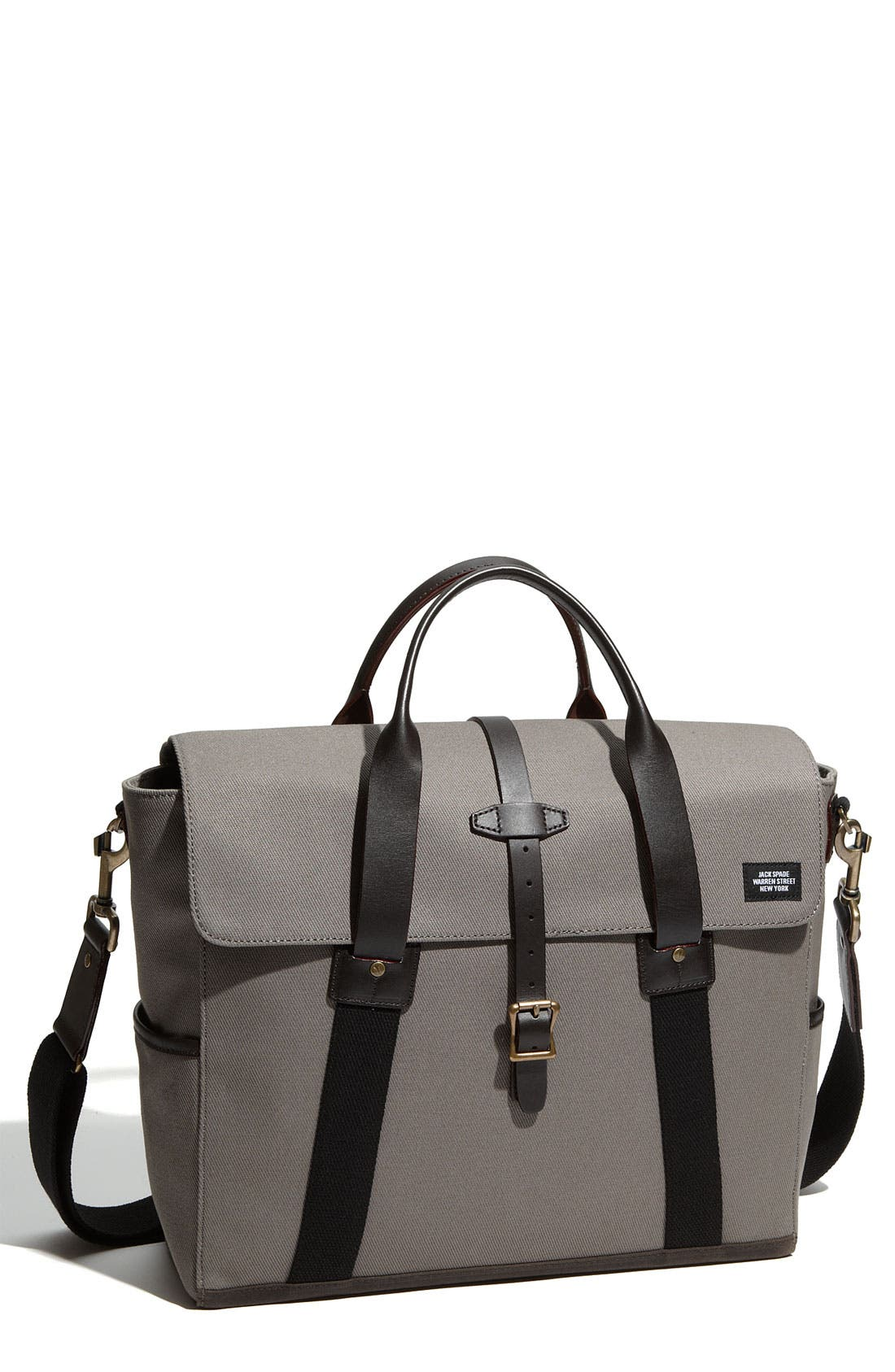 Alternate Image 1 Selected - Jack Spade Work Twill Briefcase