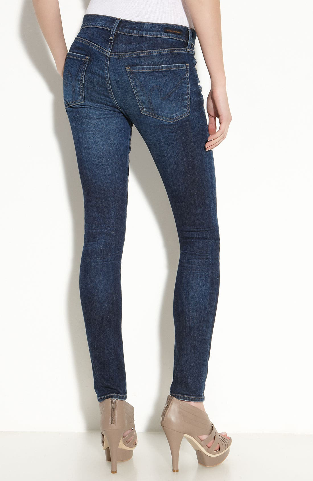 Alternate Image 1 Selected - Citizens of Humanity Skinny Jeans (Spectrum Wash)