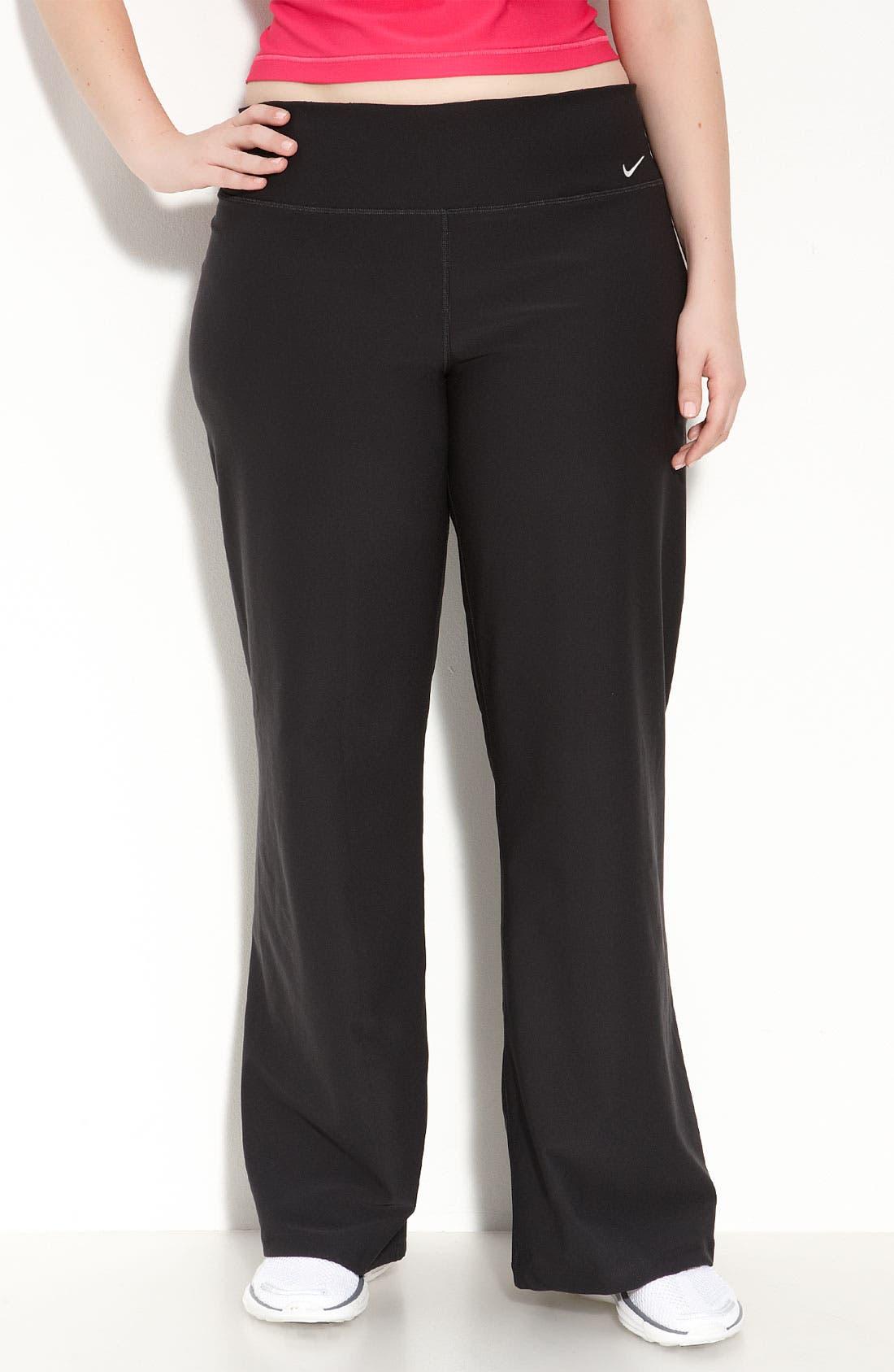 Alternate Image 1 Selected - Nike 'Legend' Pants (Plus Size)