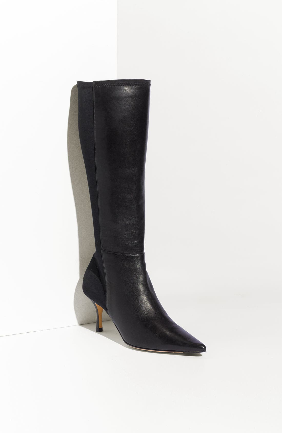 Alternate Image 1 Selected - Jimmy Choo Stretch 'Indiana' Fabric & Leather Boot (Exclusive)
