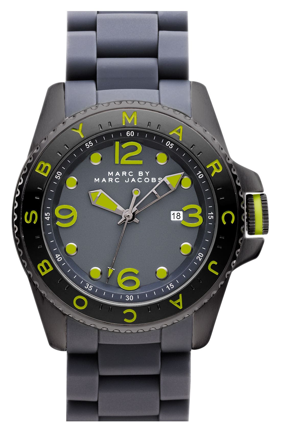 Alternate Image 1 Selected - MARC BY MARC JACOBS 'Marc Diver' Watch