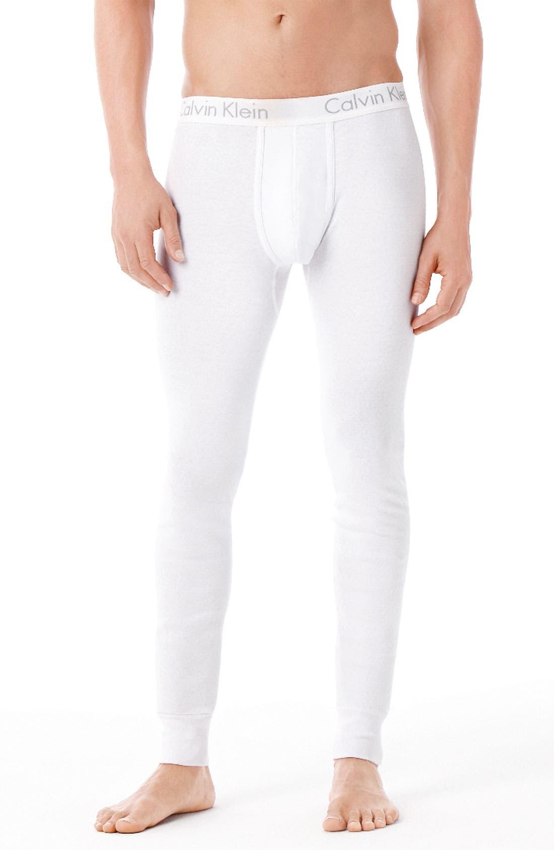 Alternate Image 1 Selected - Calvin Klein 'U1706' Cotton Long Underwear