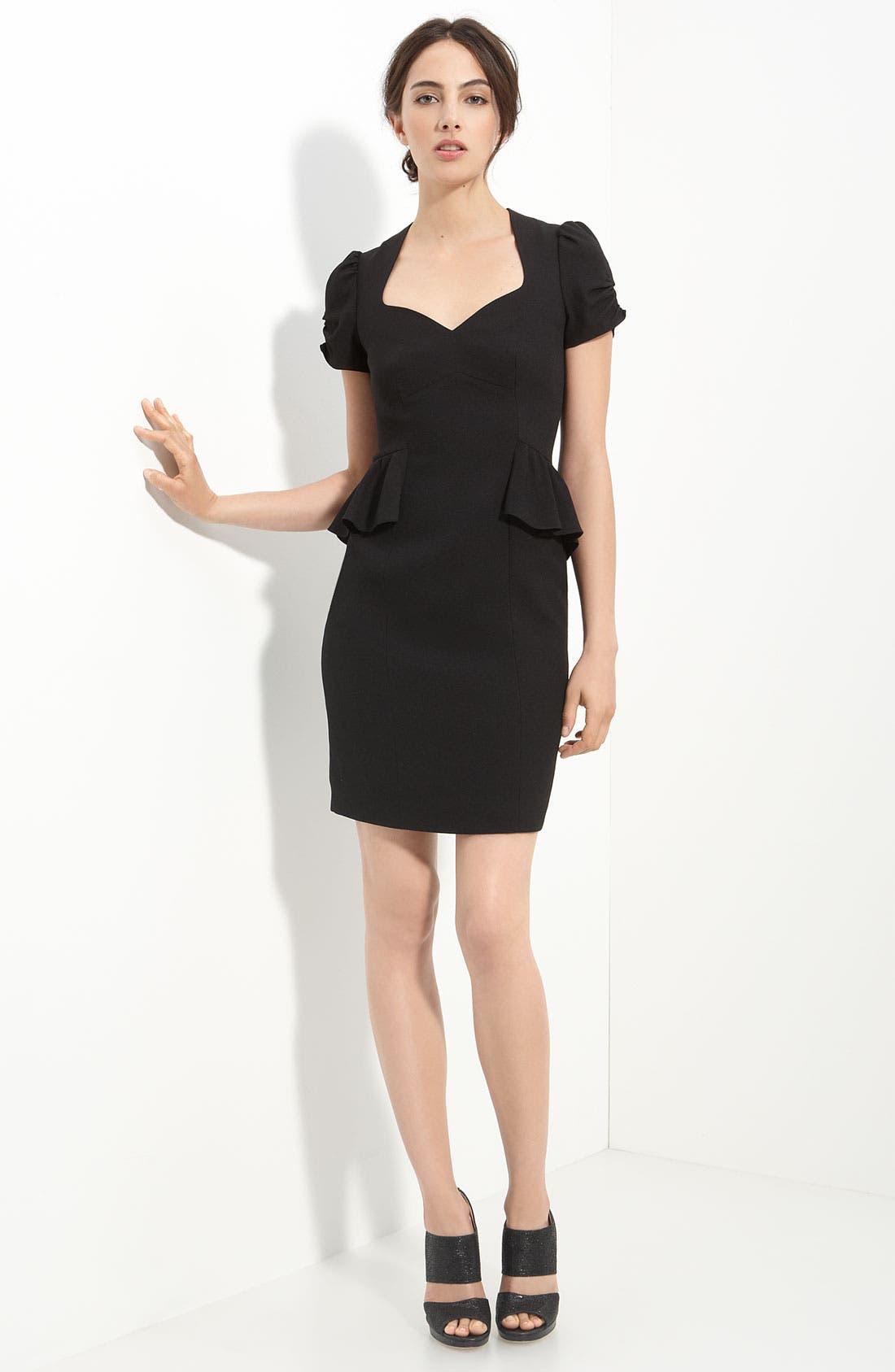 Main Image - Mcginn 'Christine' Peplum Waist Dress