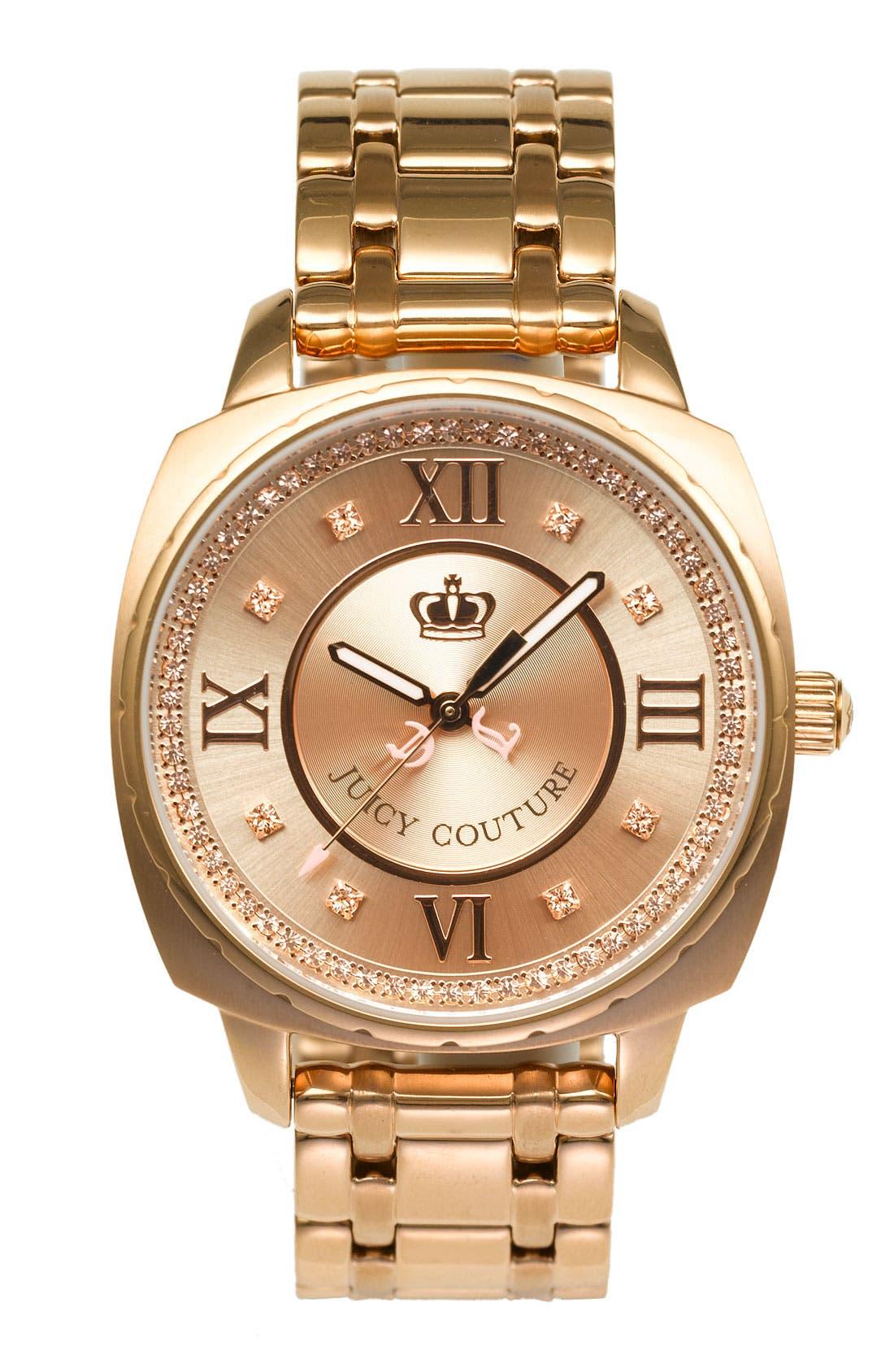 Main Image - Juicy Couture 'Beau' Bracelet Watch