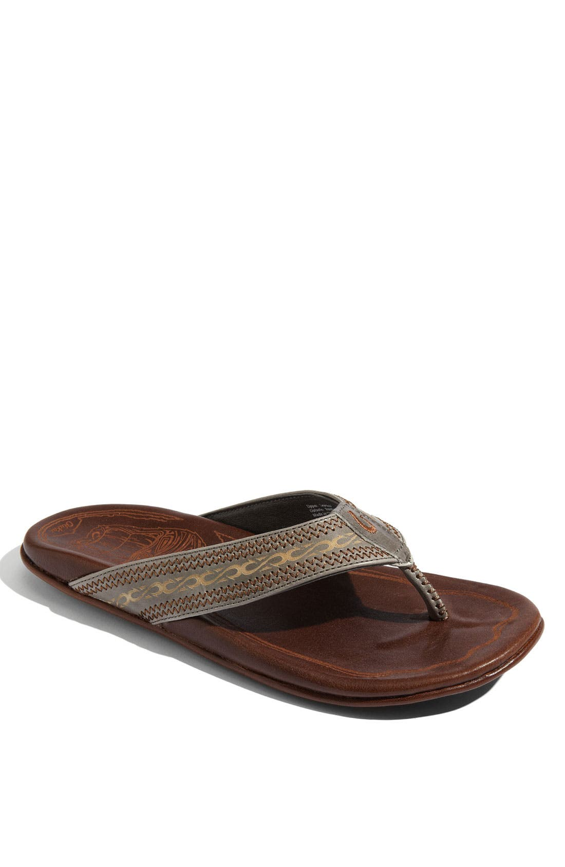 Main Image - OluKai 'Akua' Flip Flop (Nordstrom Exclusive) (Men)