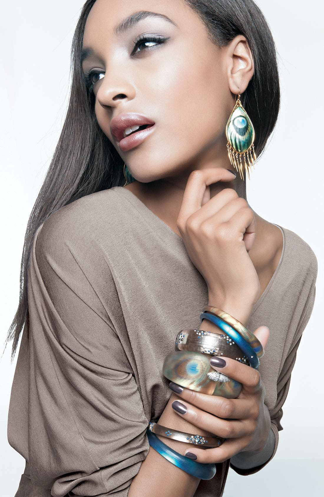 Alternate Image 2  - Alexis Bittar 'Alexandria' Skinny Tapered Bangle (Nordstrom Exclusive)