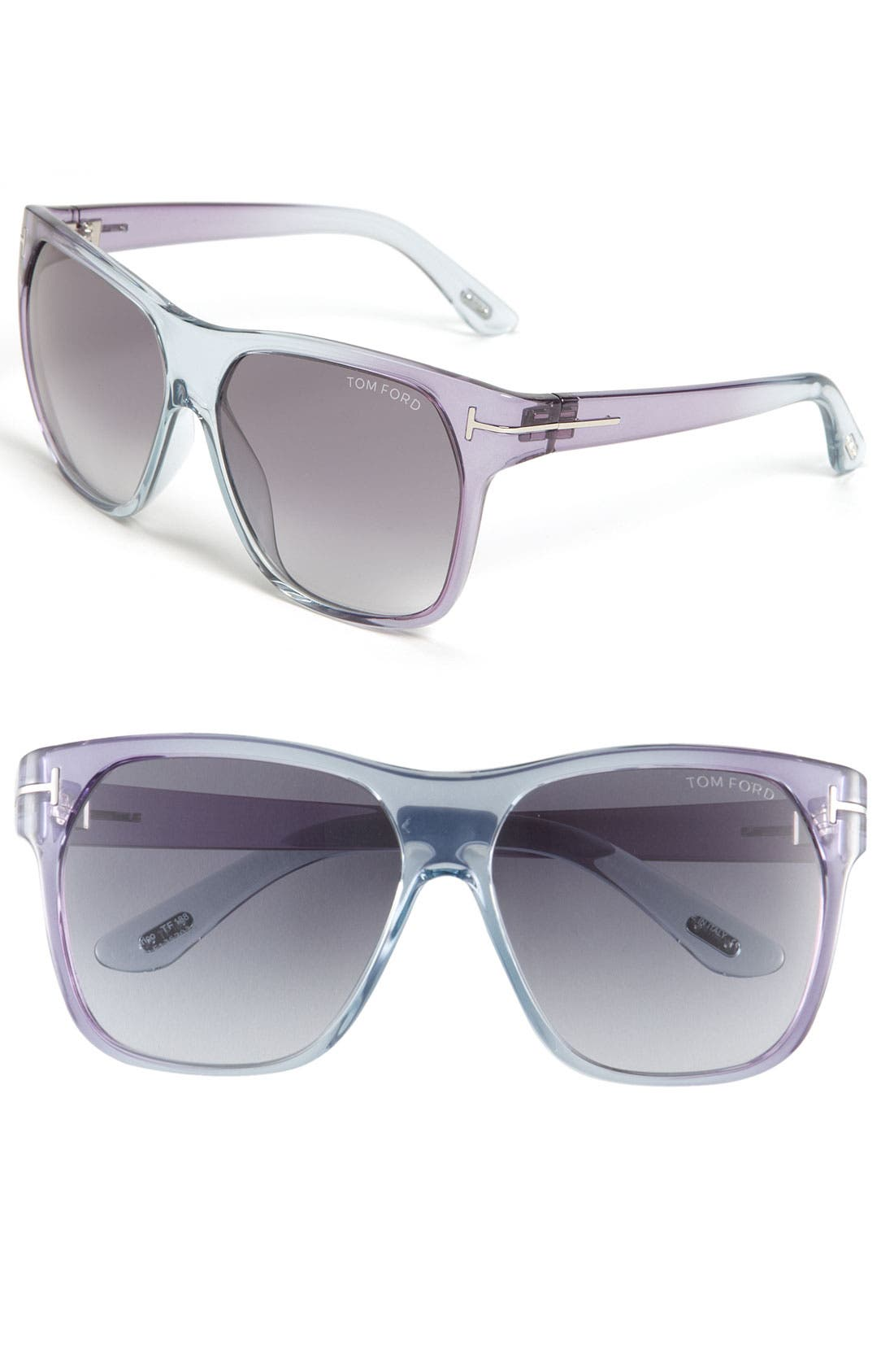 Alternate Image 1 Selected - Tom Ford Oversized Retro Sunglasses