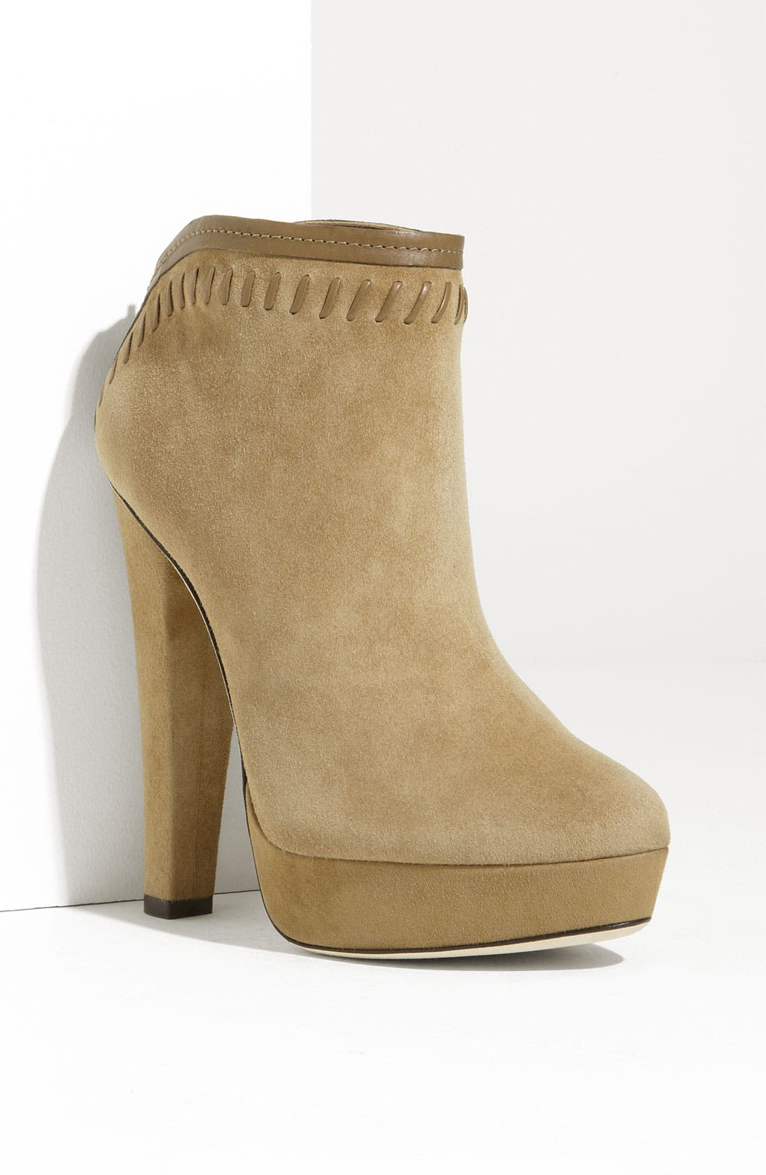 Alternate Image 1 Selected - Jimmy Choo 'Evans' Whipstitch Ankle Boot
