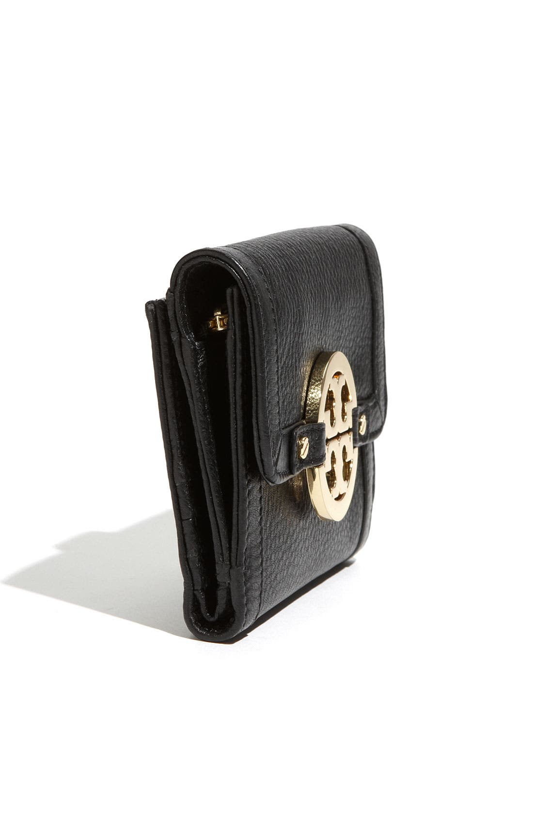 Alternate Image 2  - Tory Burch 'Amanda Angelux' Double Flap French Wallet