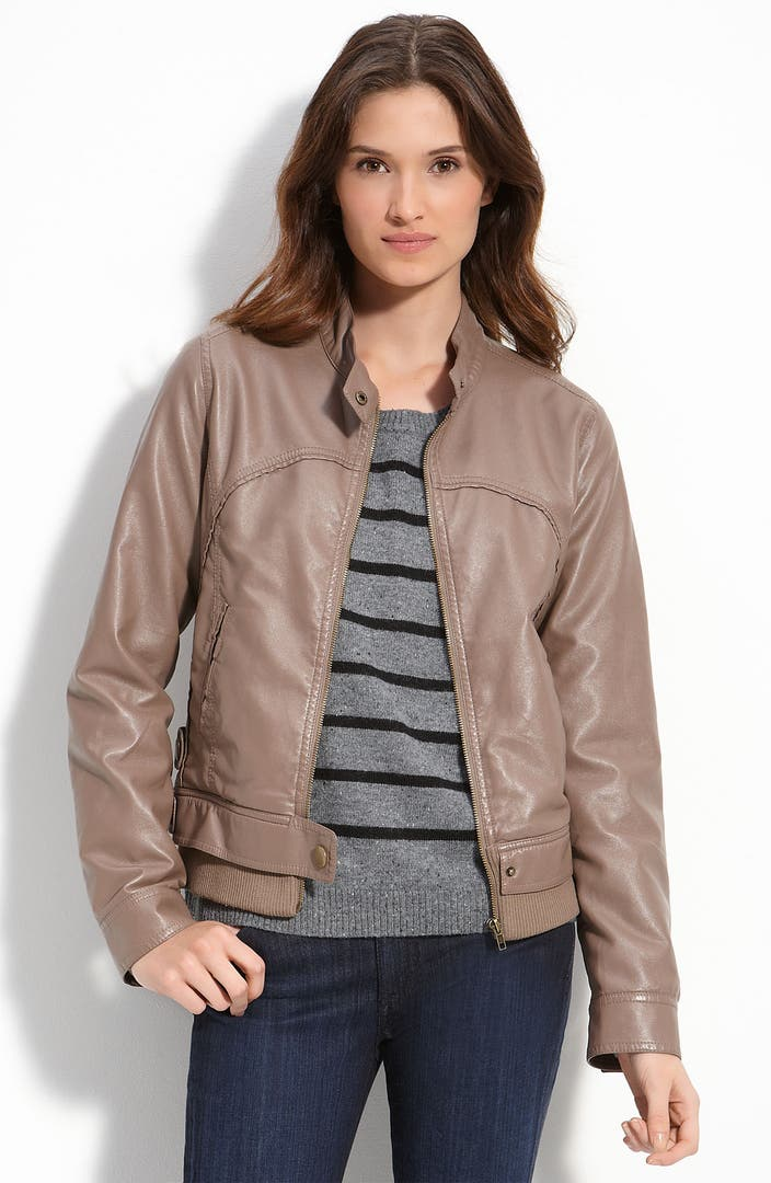 Flying tomato leather jacket