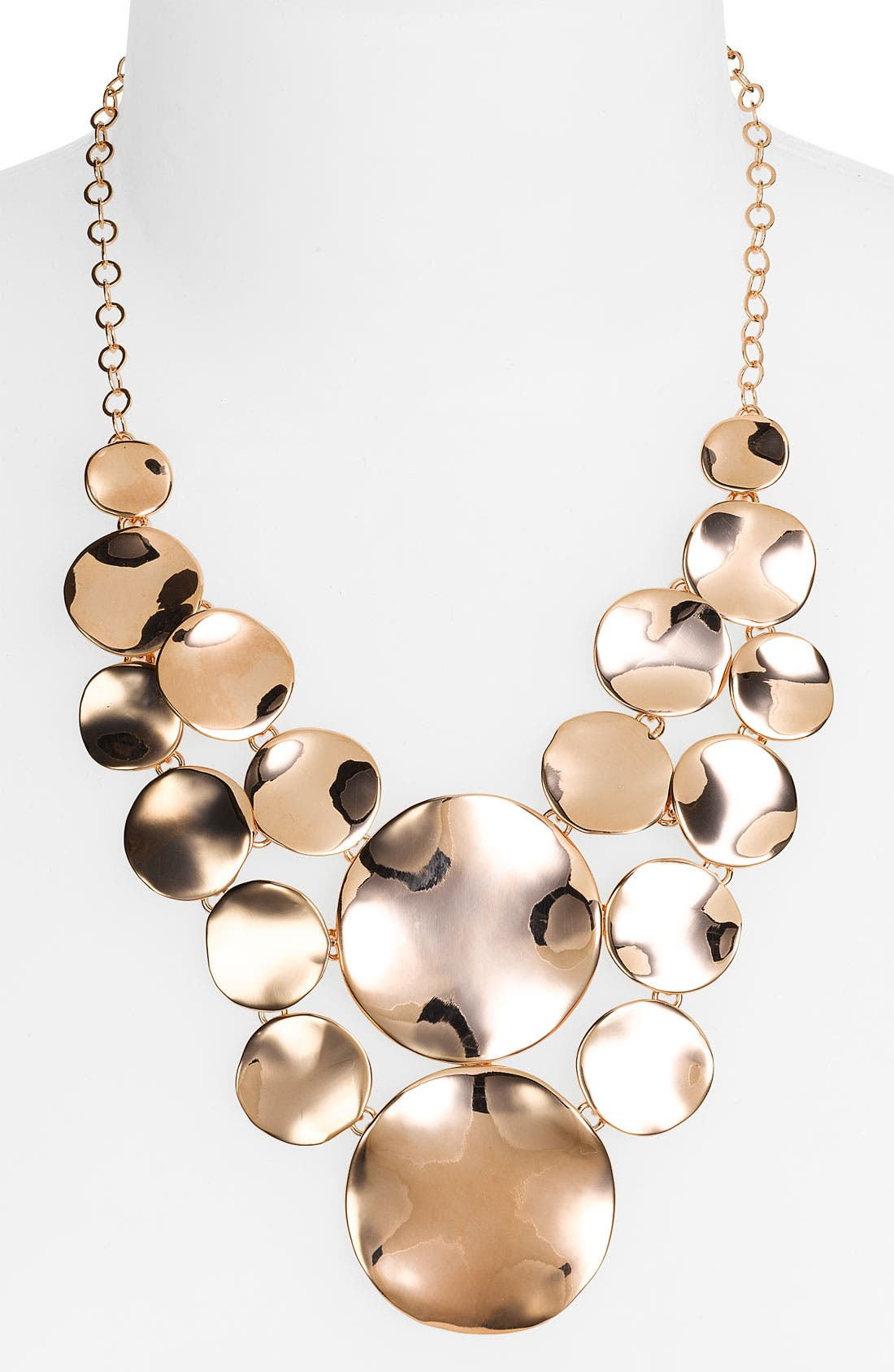Alternate Image 1 Selected - Nordstrom 'Mod Squad' Round Disc Frontal Necklace