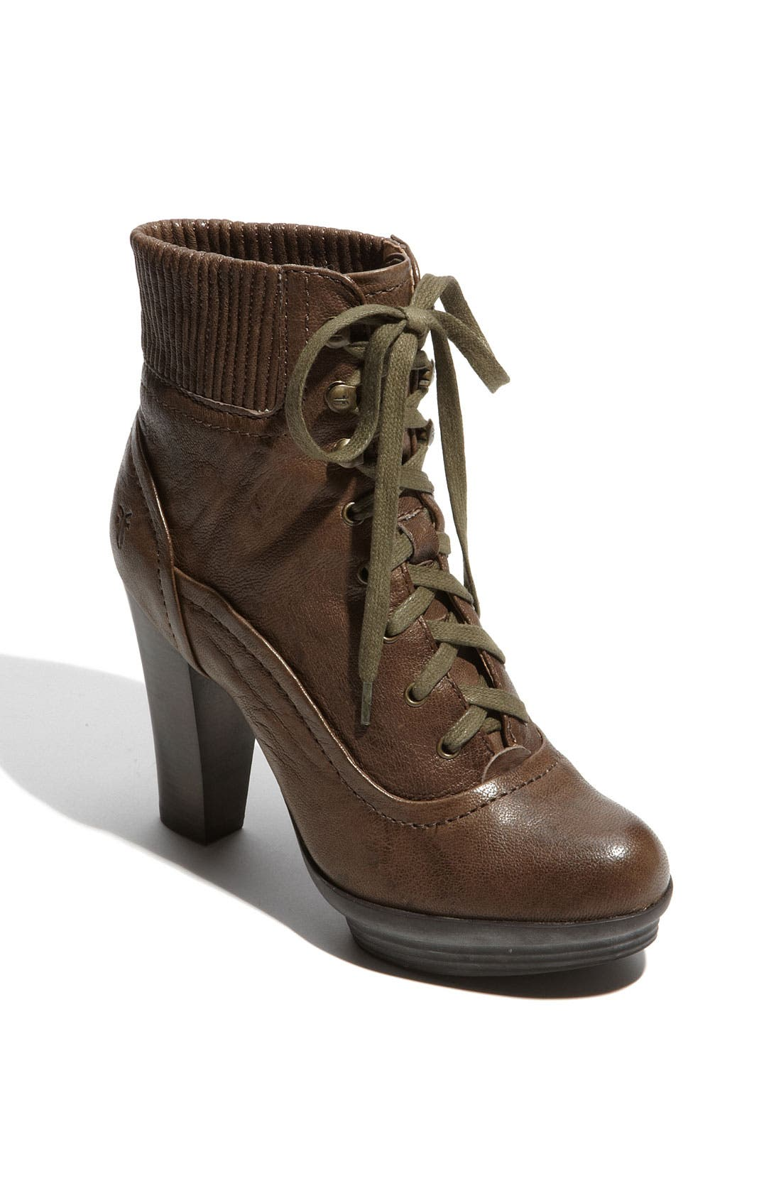 Main Image - Frye 'Mimi' Lace-Up Bootie