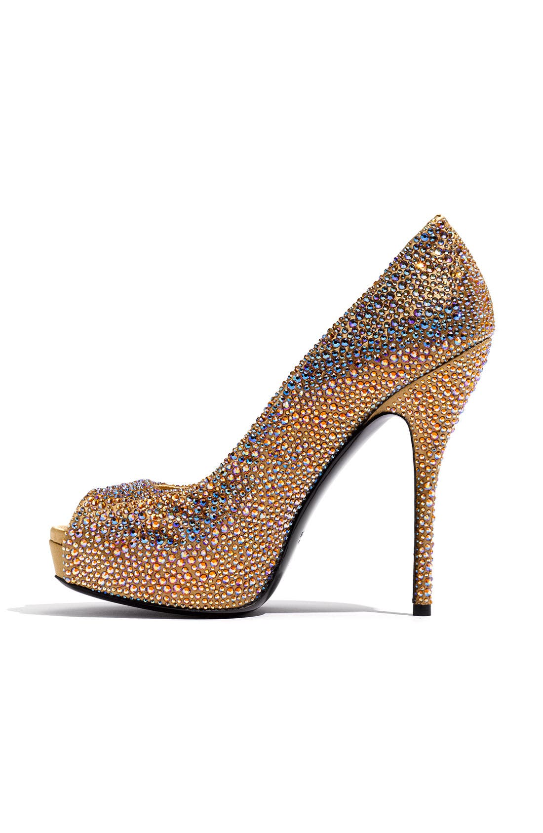 Alternate Image 2  - Gucci 'Sofia' Crystal Embellished Platform Pump
