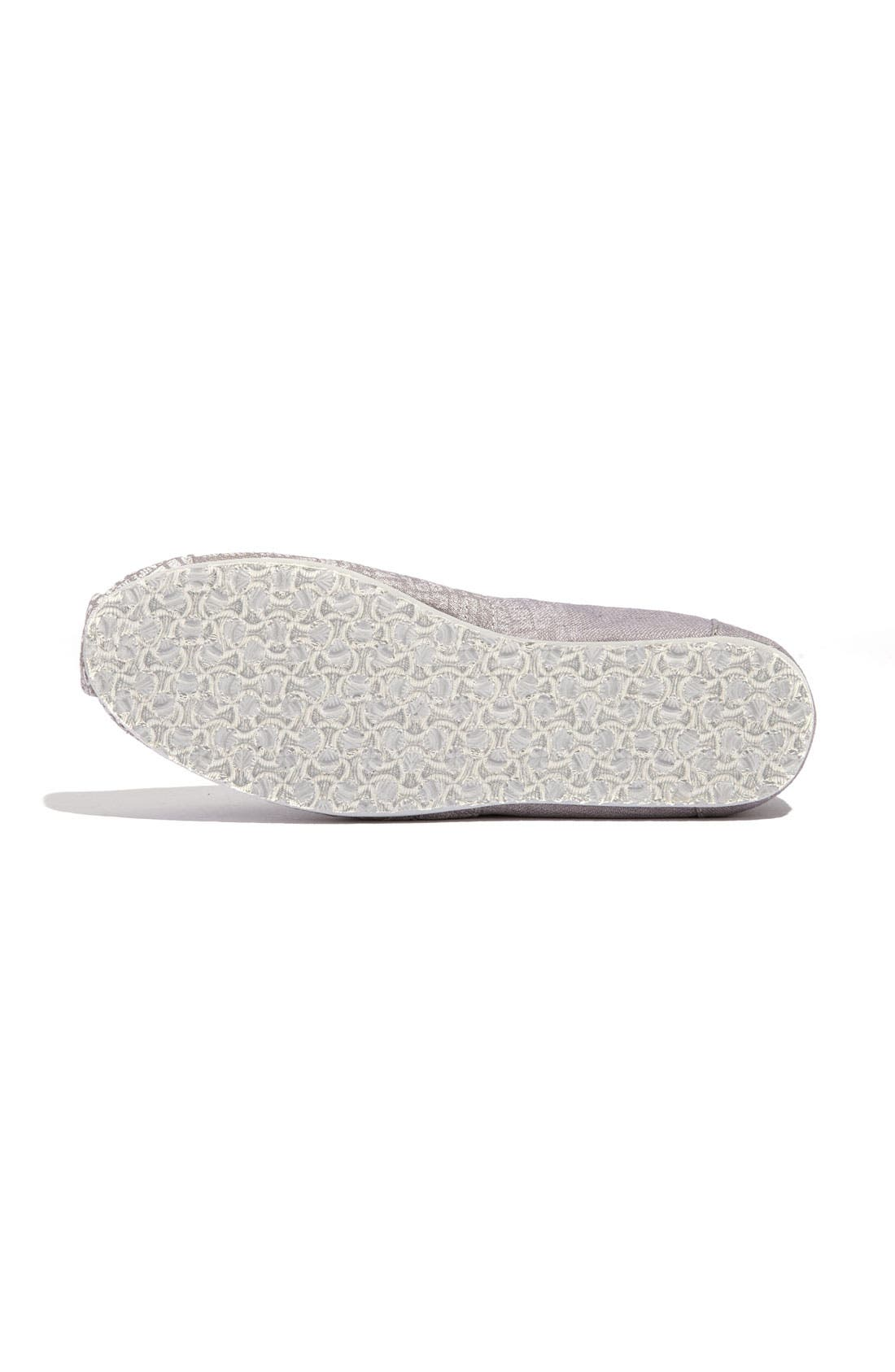 Alternate Image 4  - TOMS 'Classic - Carpe Diem' Canvas Slip-On (Women)