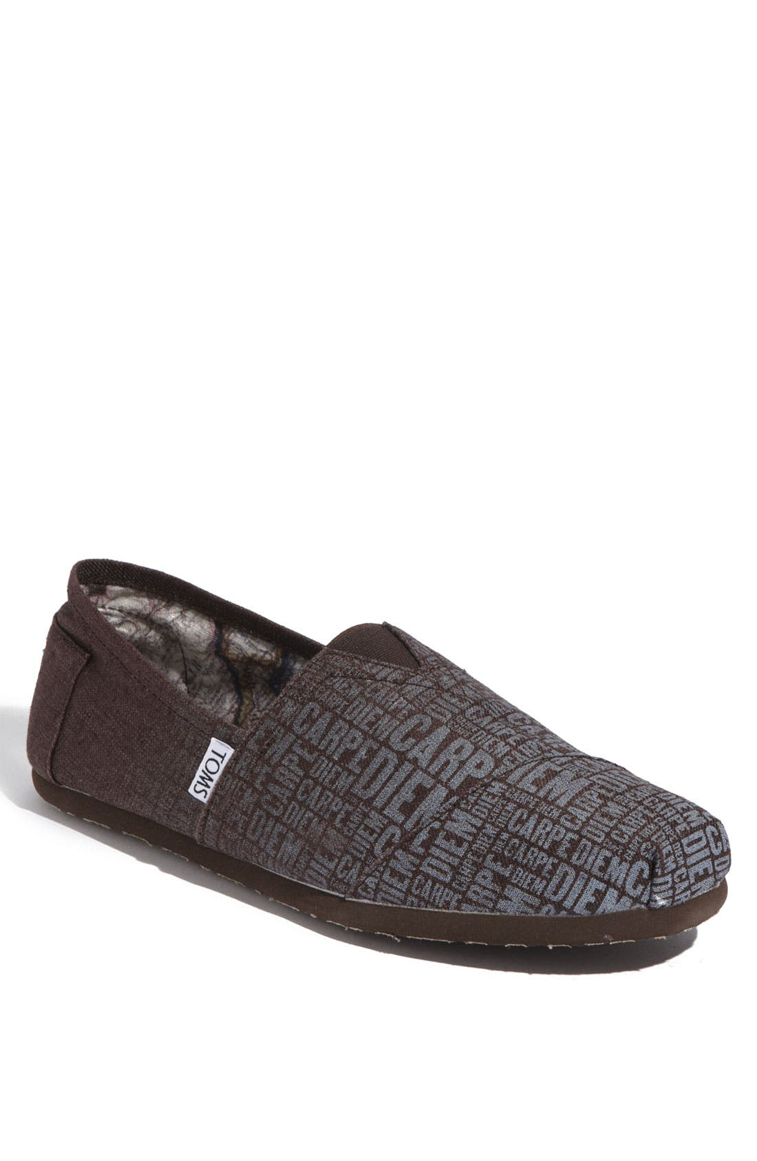 Alternate Image 1 Selected - TOMS 'Classic - Print' Canvas Slip-On (Men)