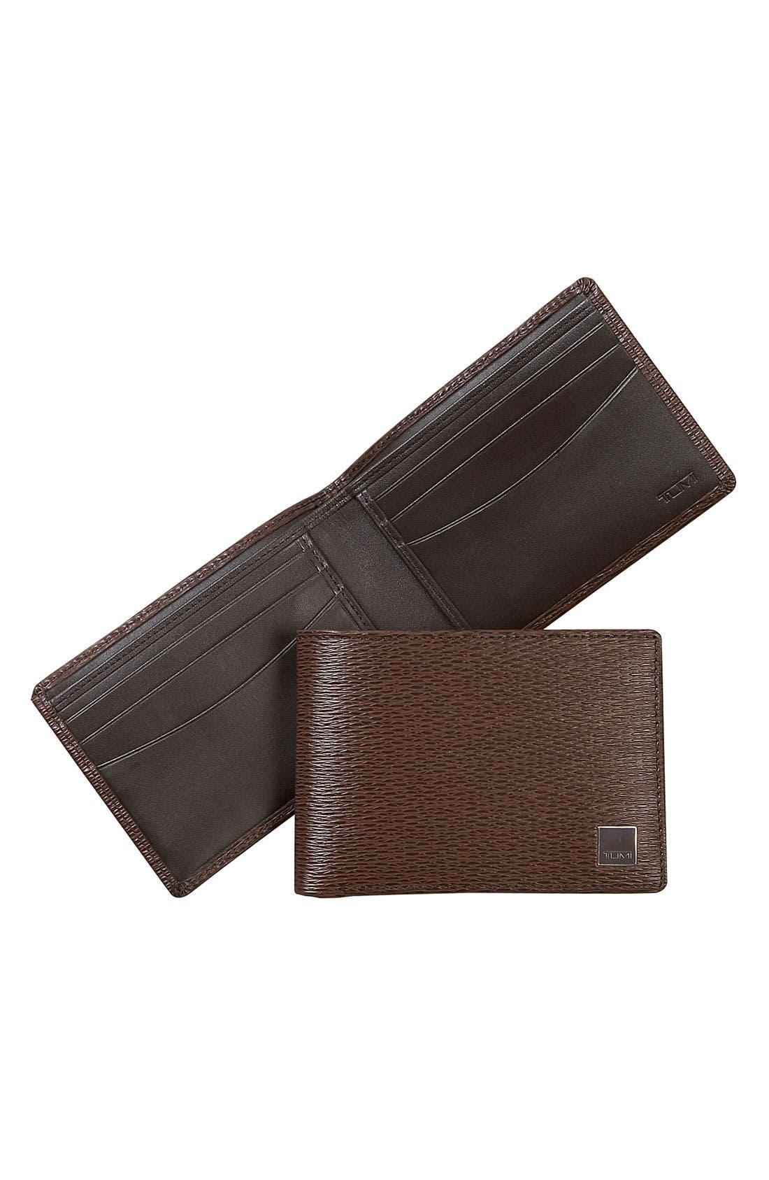 Main Image - Tumi 'Monaco' Slim Single Billfold Wallet
