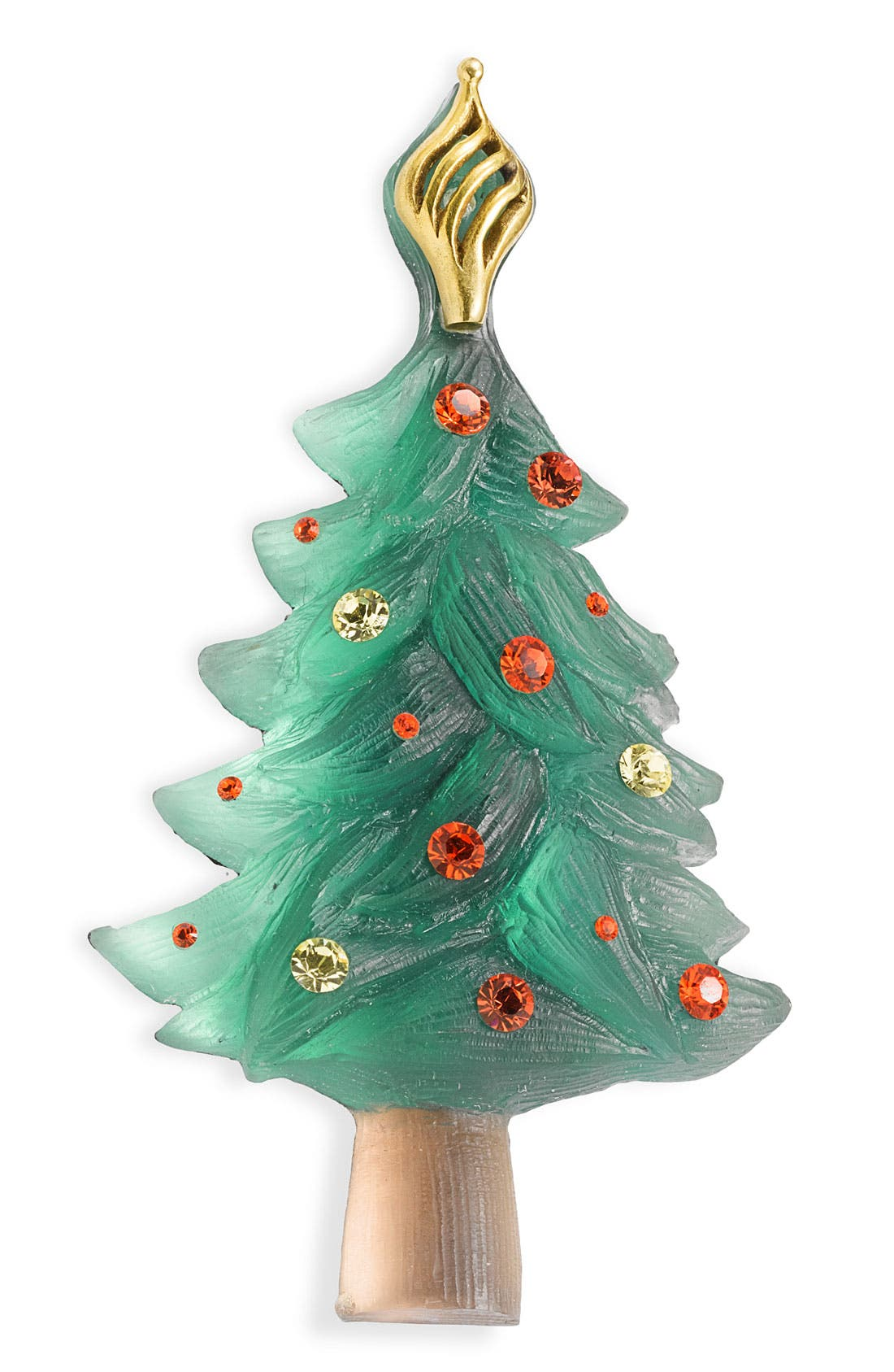 Alternate Image 1 Selected - Alexis Bittar Signed Christmas Tree Pin (Nordstrom Exclusive)