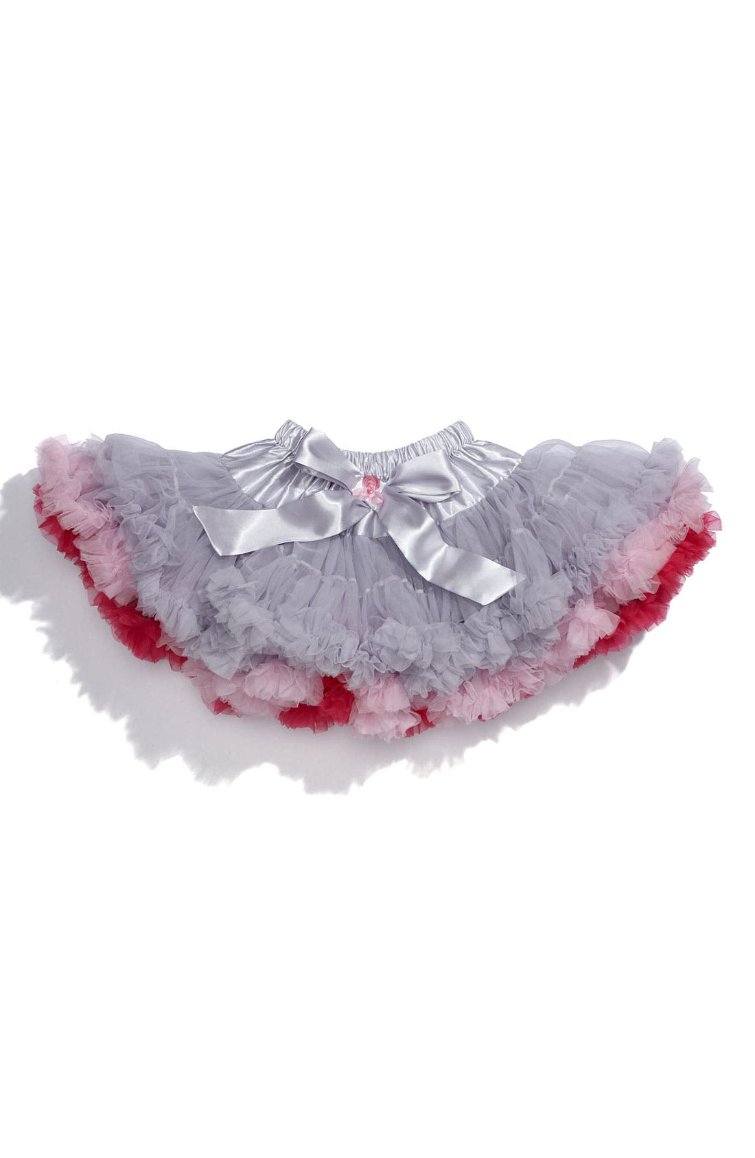 Alternate Image 1 Selected - PLH Bows & Laces Two Tone Pettiskirt (Infant)