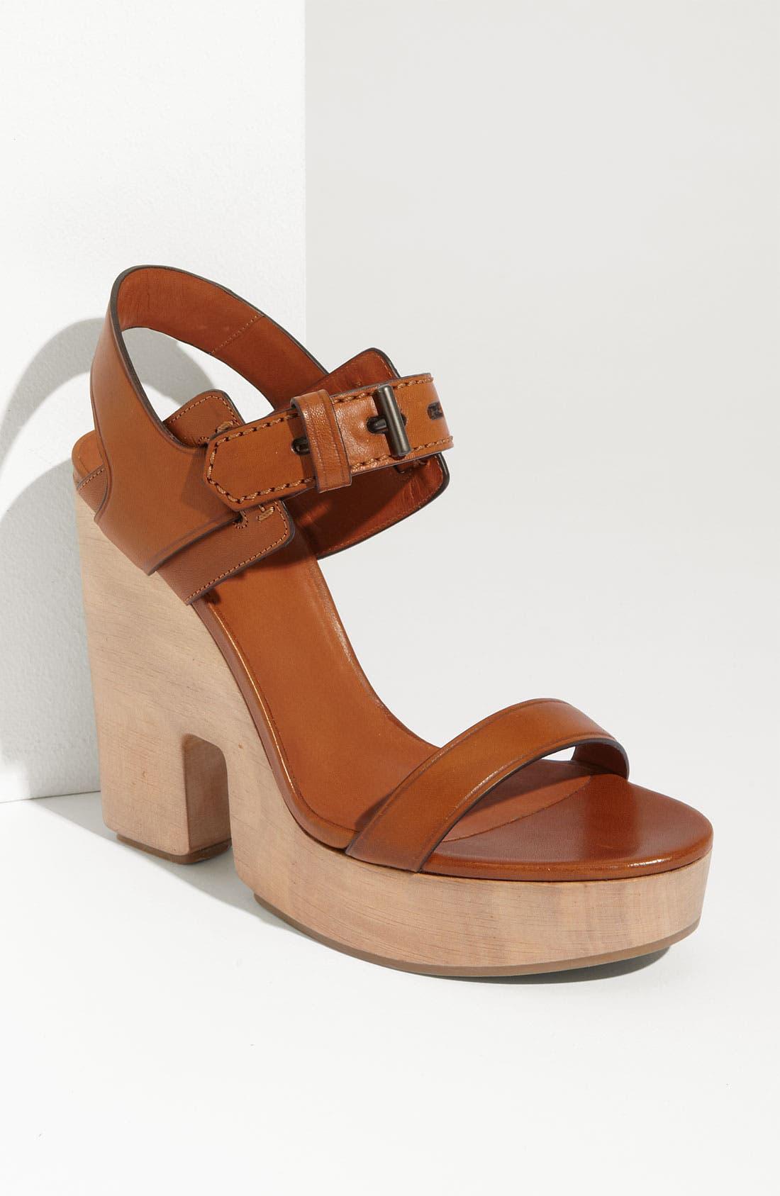 Main Image - Reed Krakoff Cutout Wedge Sandal