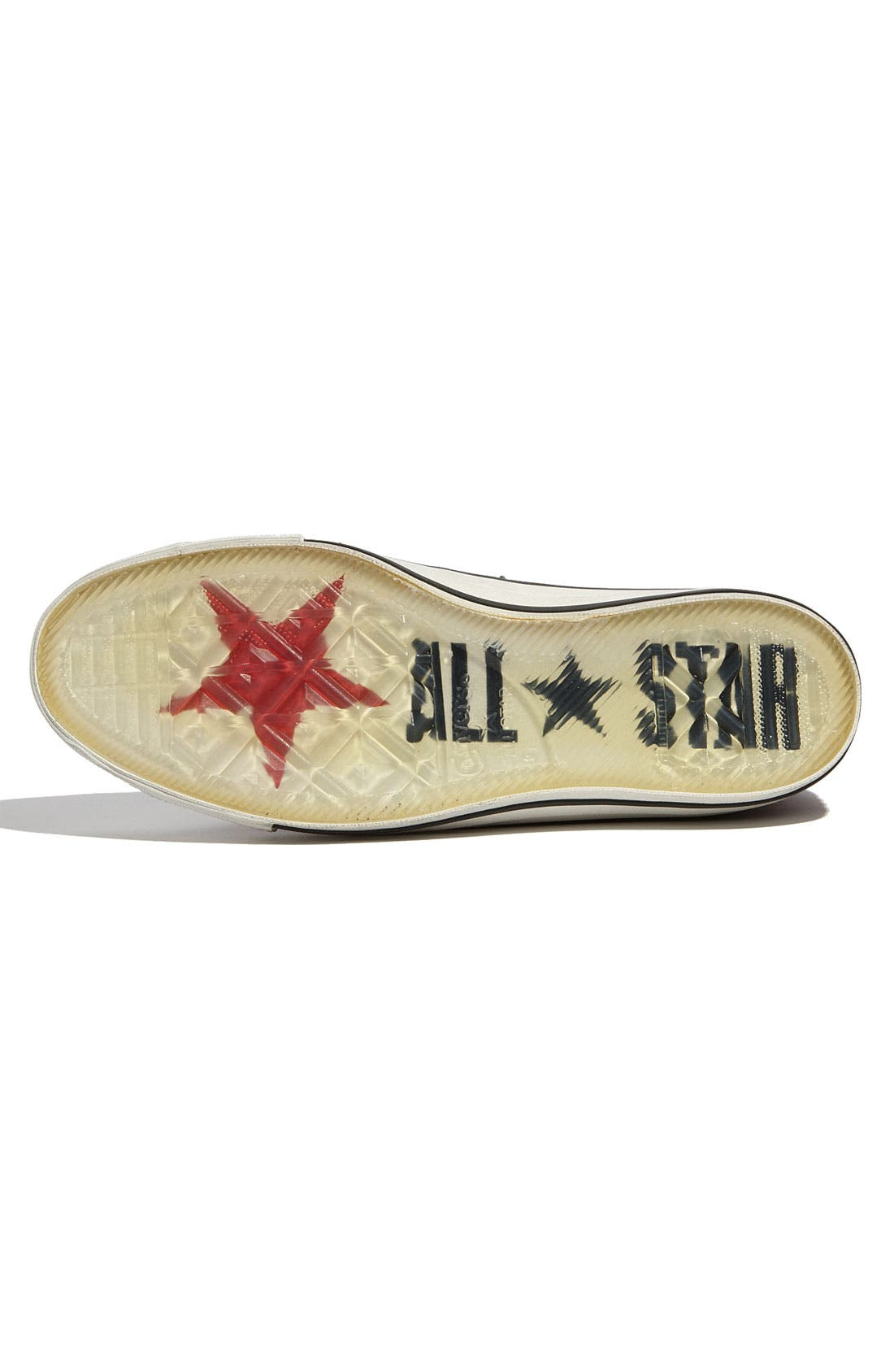 'Star Player' Leather Sneaker,                             Alternate thumbnail 5, color,                             Red / Blue