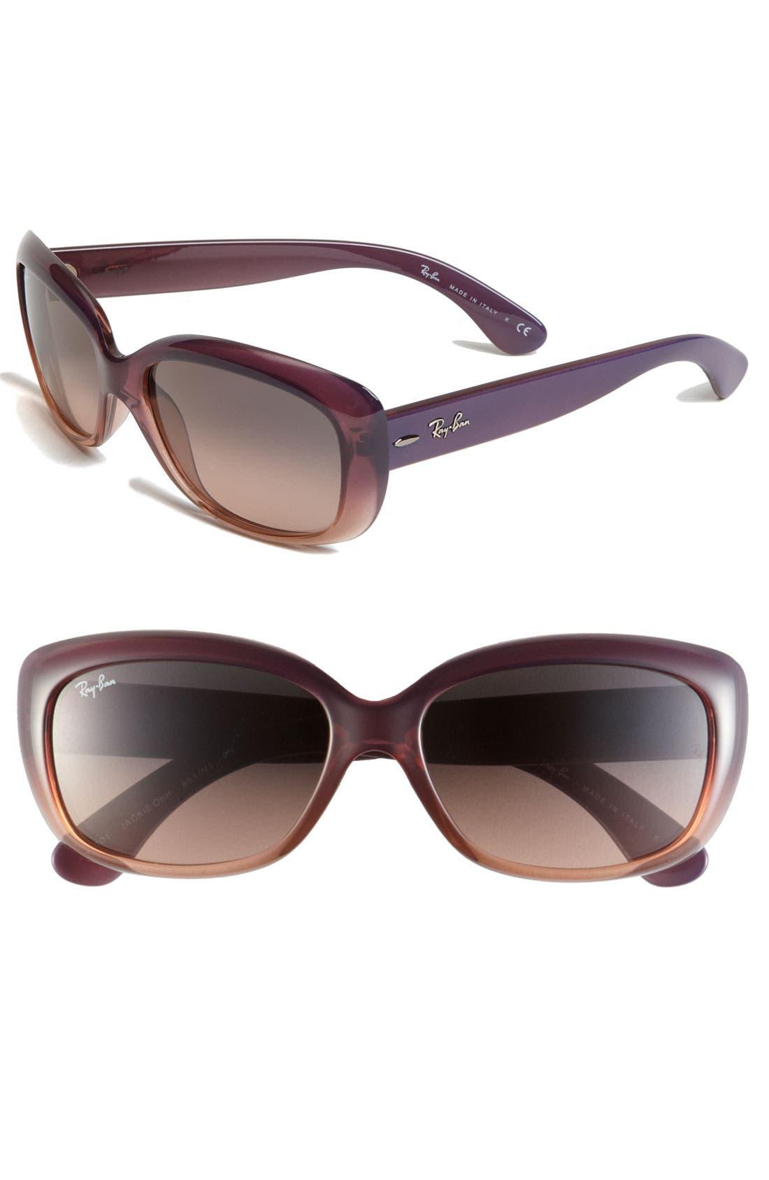 Main Image - Ray-Ban 'Classic' 58mm Sunglasses