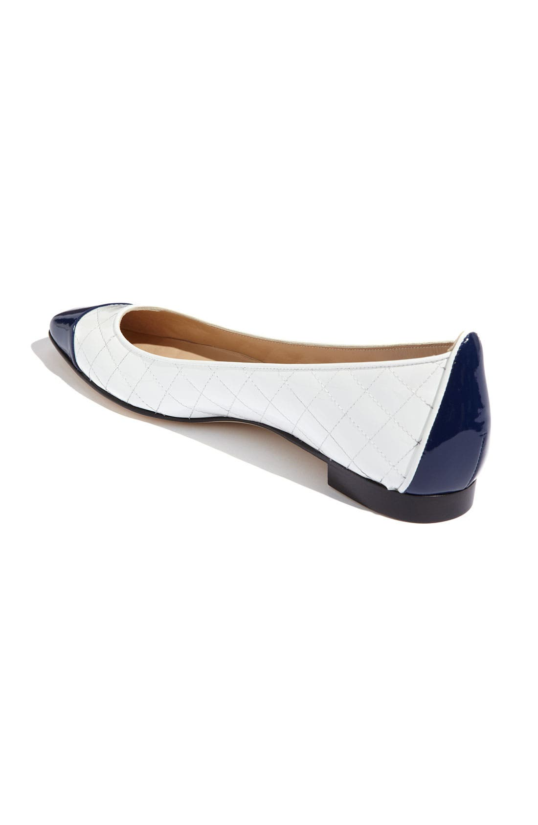 Alternate Image 2  - Manolo Blahnik Pointed Cap Toe Flat
