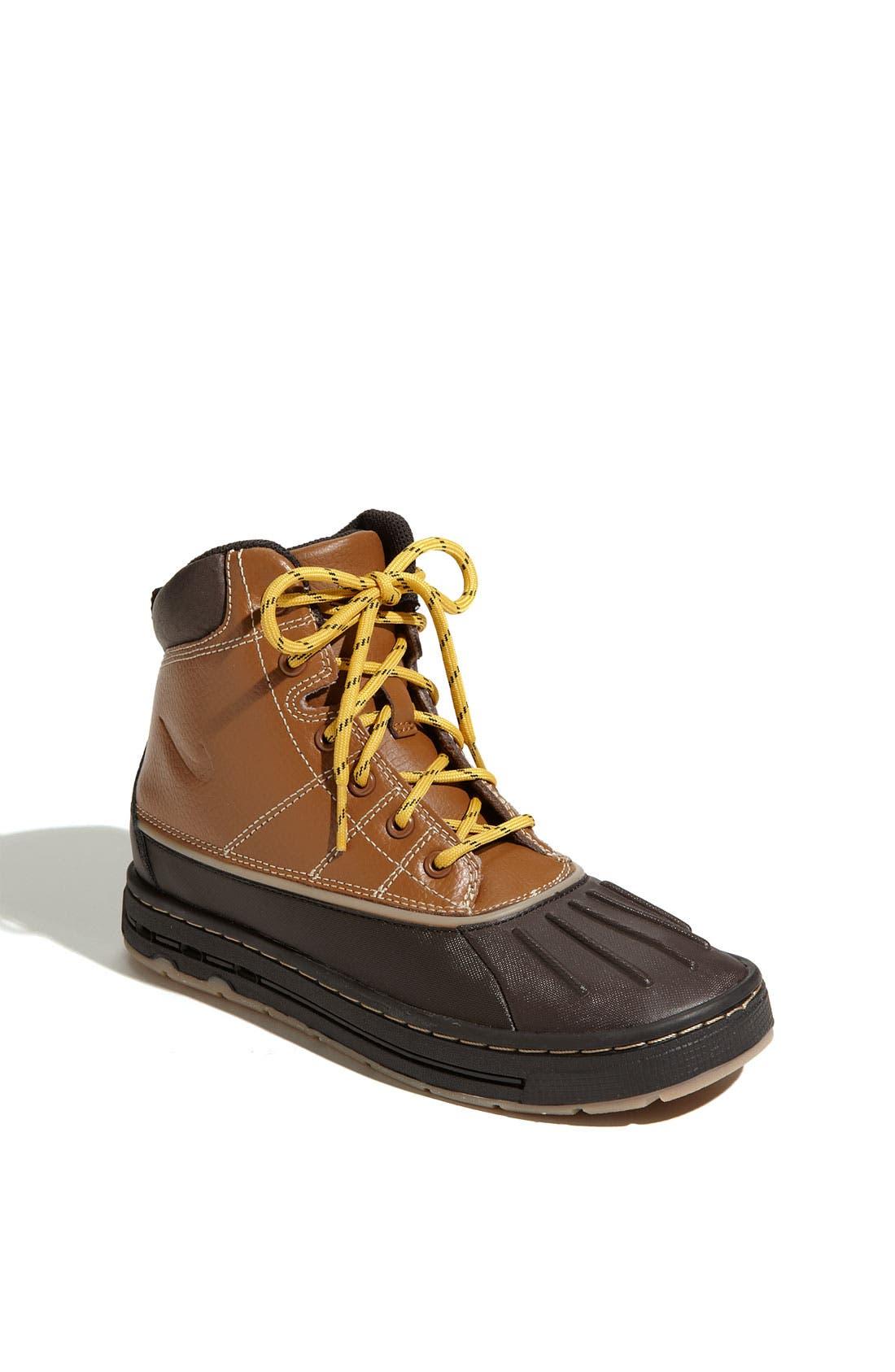 Alternate Image 1 Selected - Nike 'Woodside' Hiking Boot (Toddler, Little Kid & Big Kid)