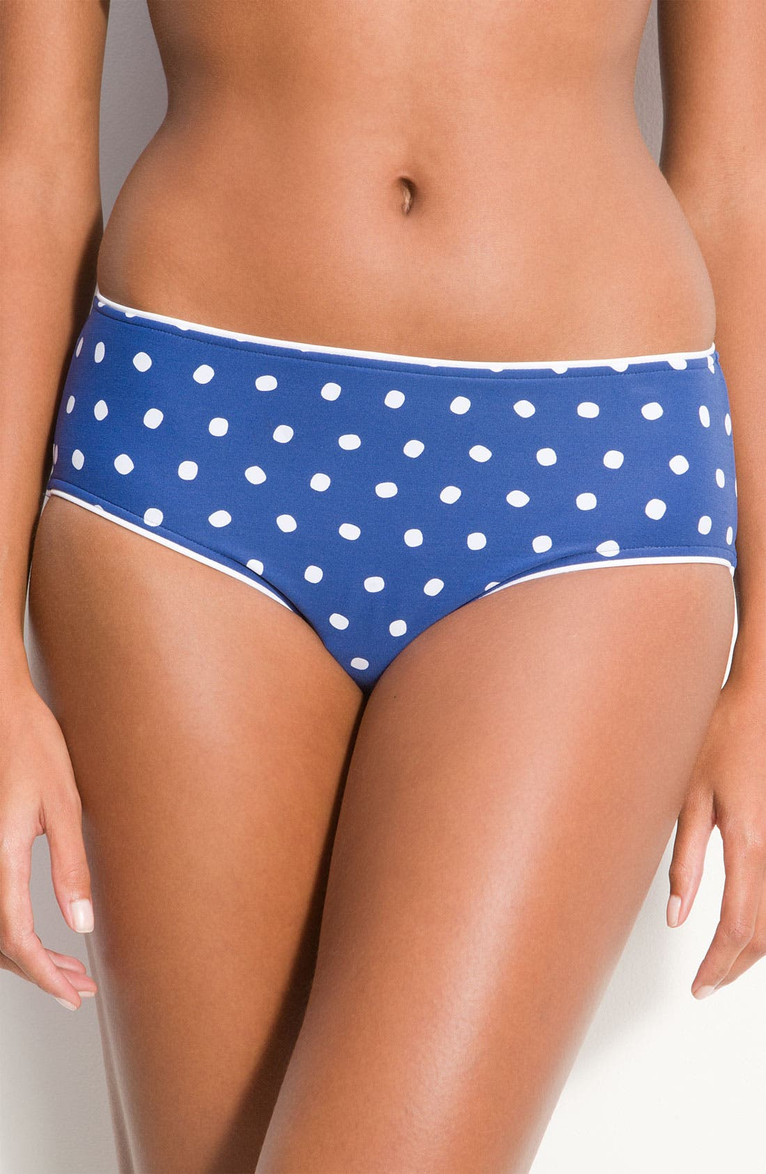 'La Vita' Bikini Bottoms,                         Main,                         color, Denim