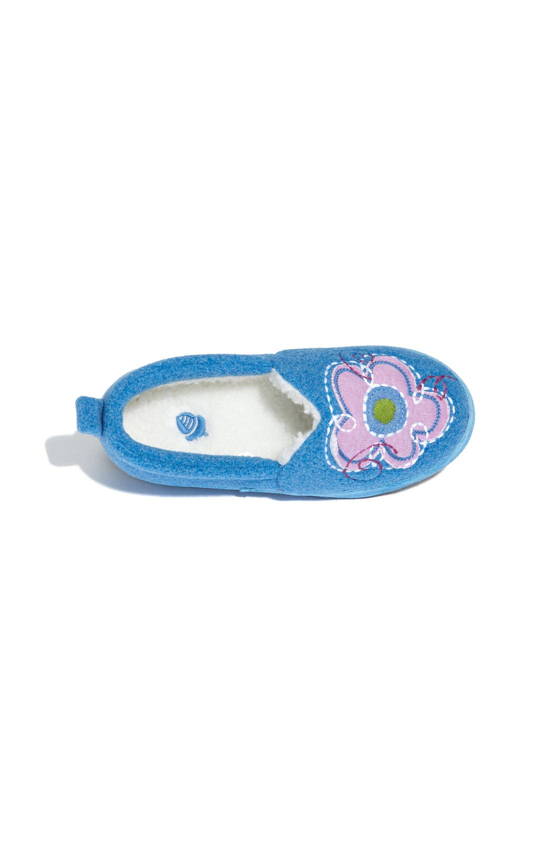 Alternate Image 3  - Acorn 'Flower Power Moc' Slipper (Toddler, Little Kid & Big Kid)
