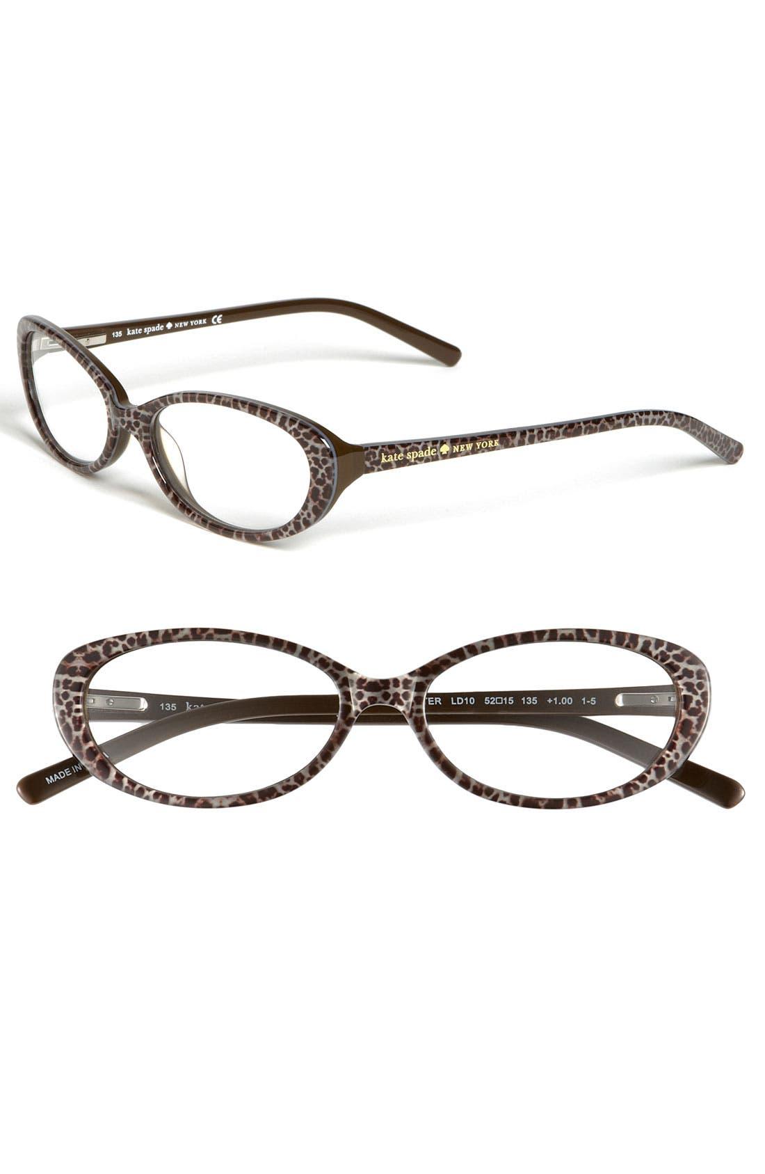 Main Image - kate spade new york 'hester' reading glasses (2 for $88)
