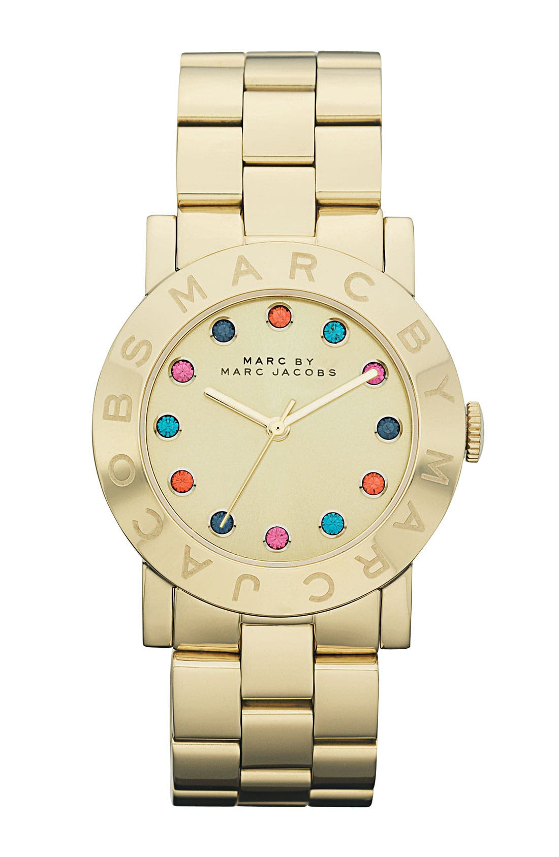 Alternate Image 1 Selected - MARC JACOBS 'Dexter Amy' Round Bracelet Watch