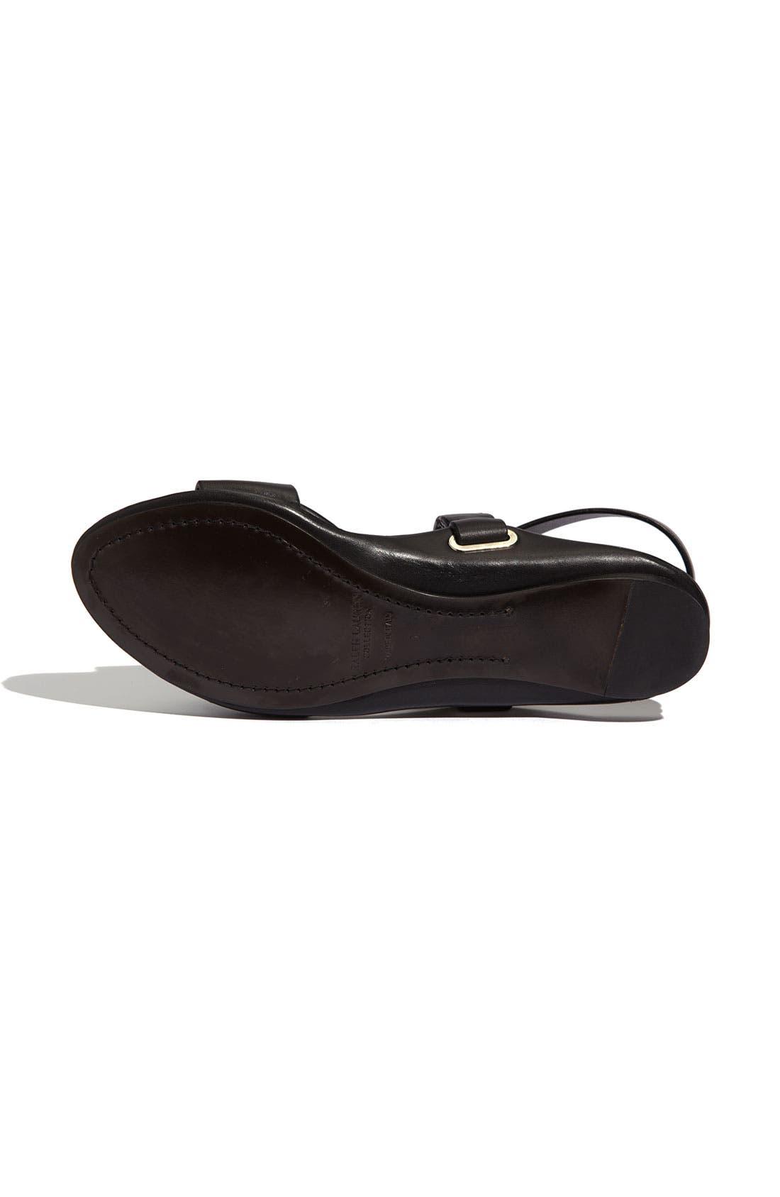 Alternate Image 4  - Ralph Lauren Collection 'Madalyn' Sandal