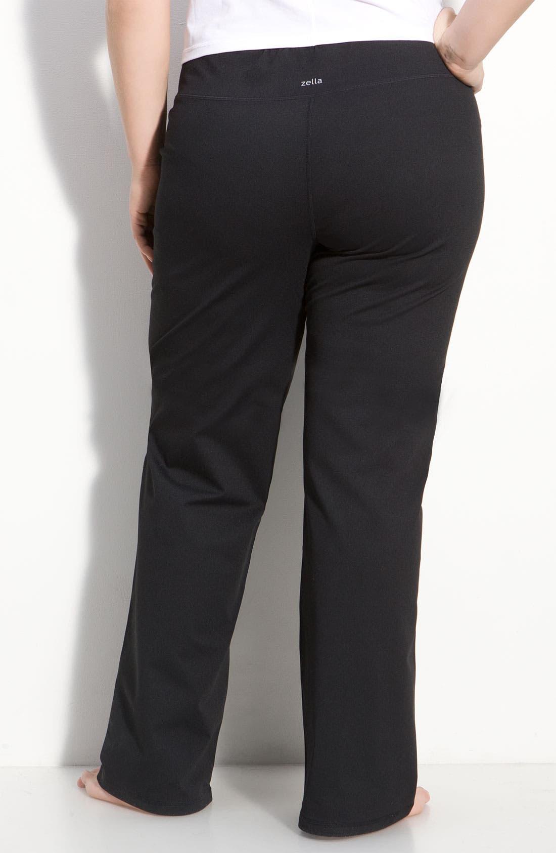 Alternate Image 2  - Zella 'Soul' Wide Leg Pants (Plus)