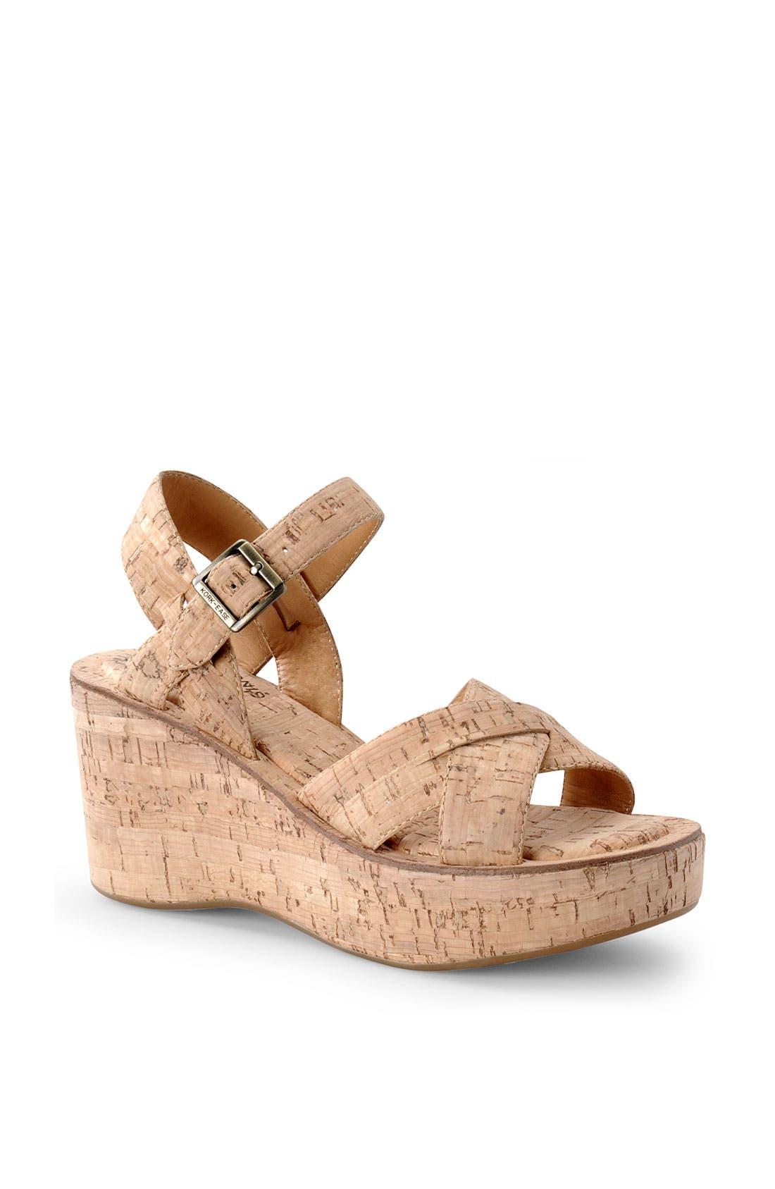 Alternate Image 1 Selected - Kork-Ease 'Ava' Wedge Sandal