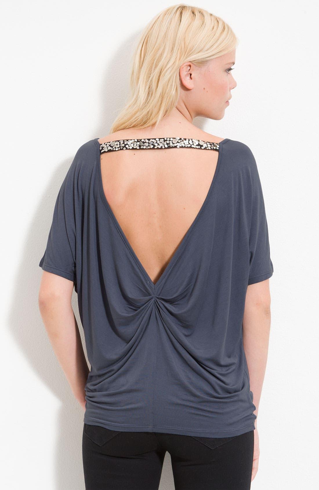 Alternate Image 1 Selected - Remain Drape Neck Top