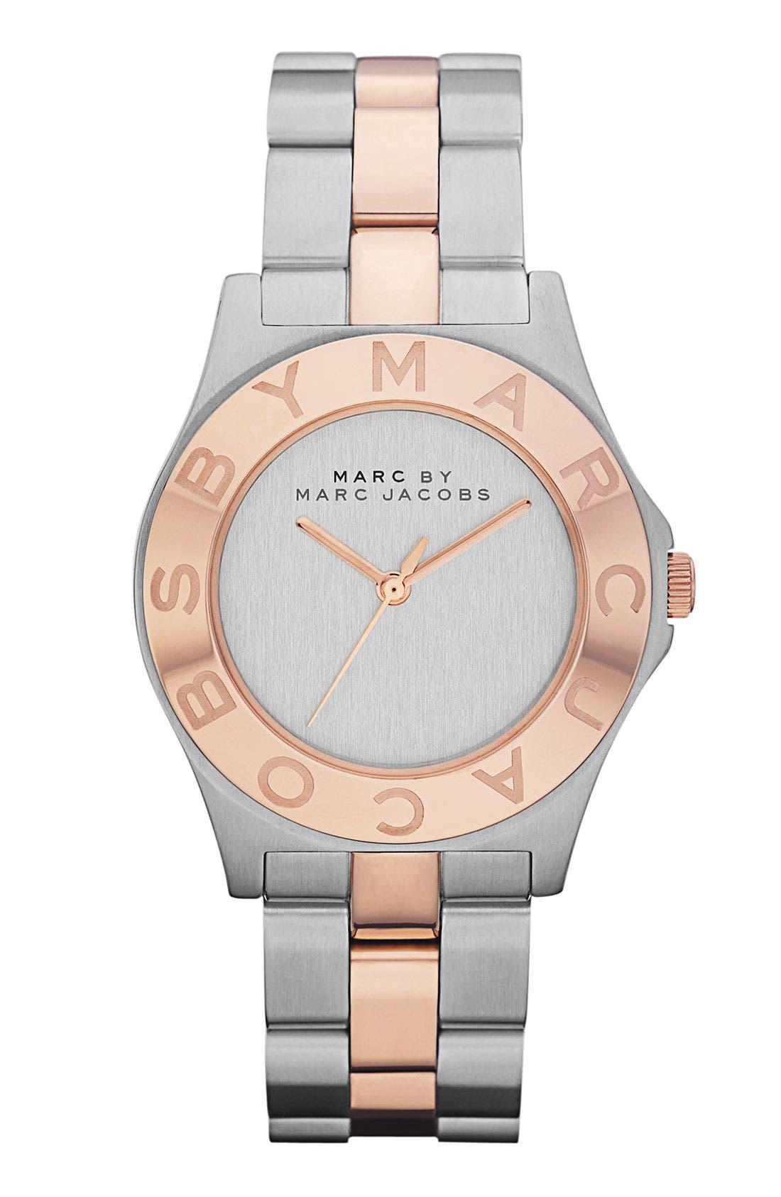 Main Image - MARC JACOBS Round Bracelet Watch, 36mm