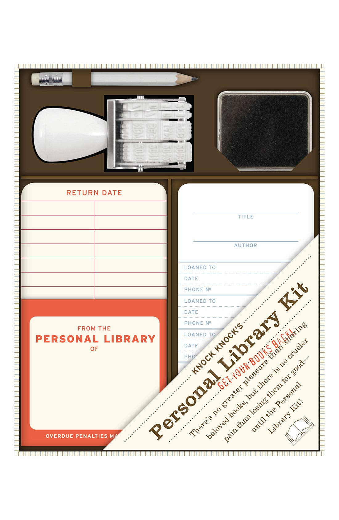 Alternate Image 1 Selected - Knock Knock Personal Library Kit