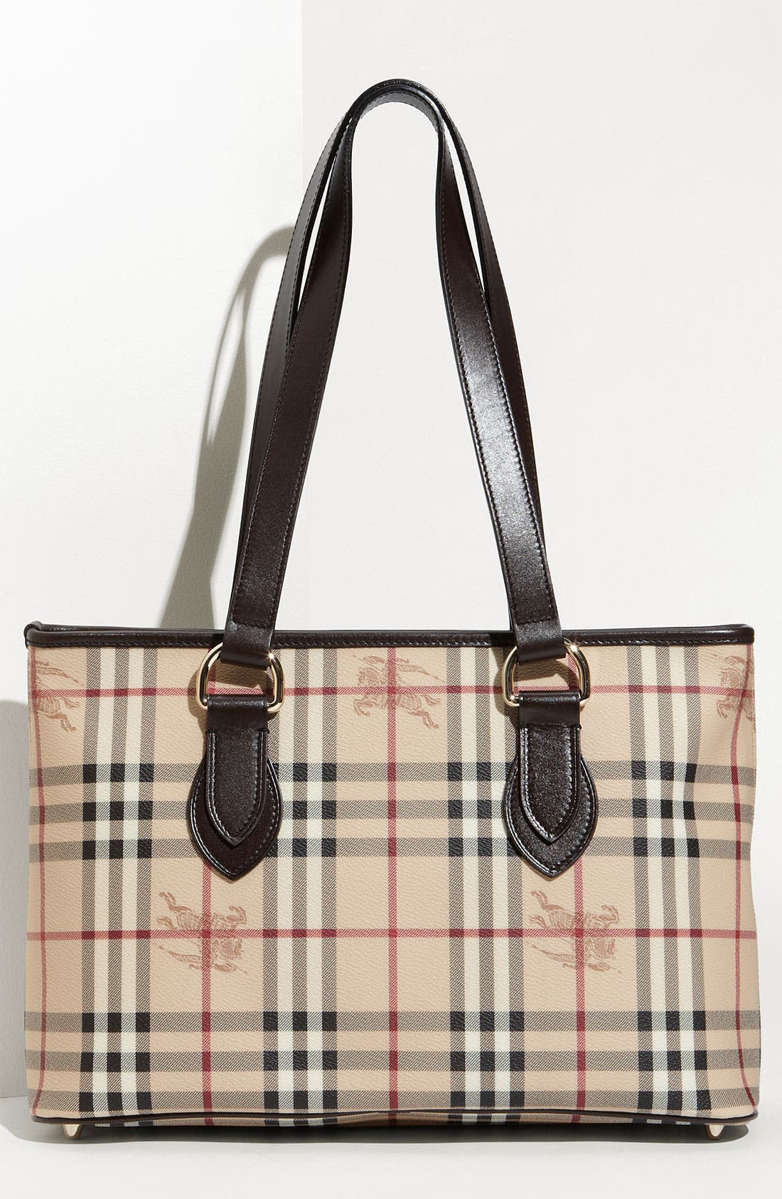 Alternate Image 1 Selected - Burberry 'Haymarket Check' Shopper, Medium